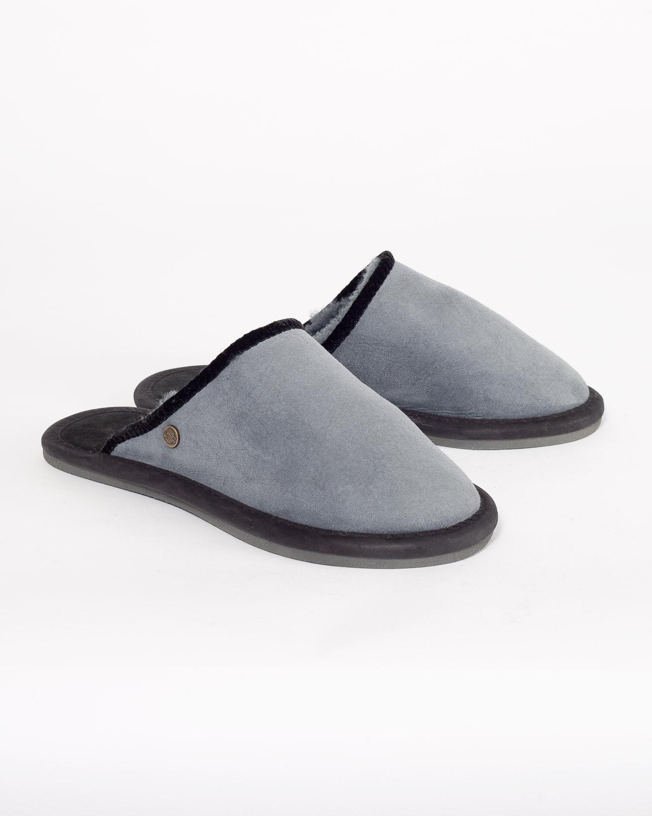 Bound Mules - Size 6 - Dark Grey - 996