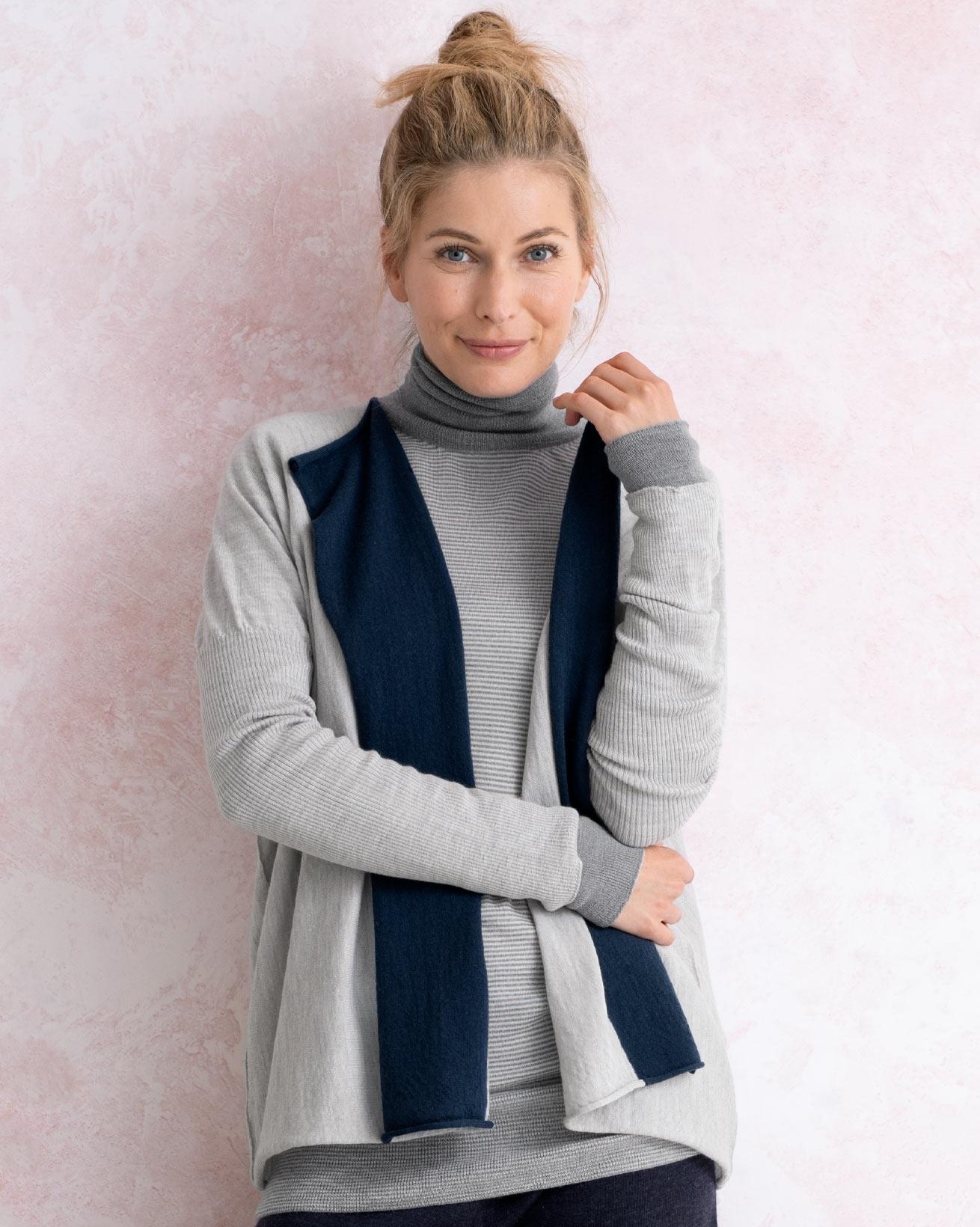 Fine Knit Merino Cardigan