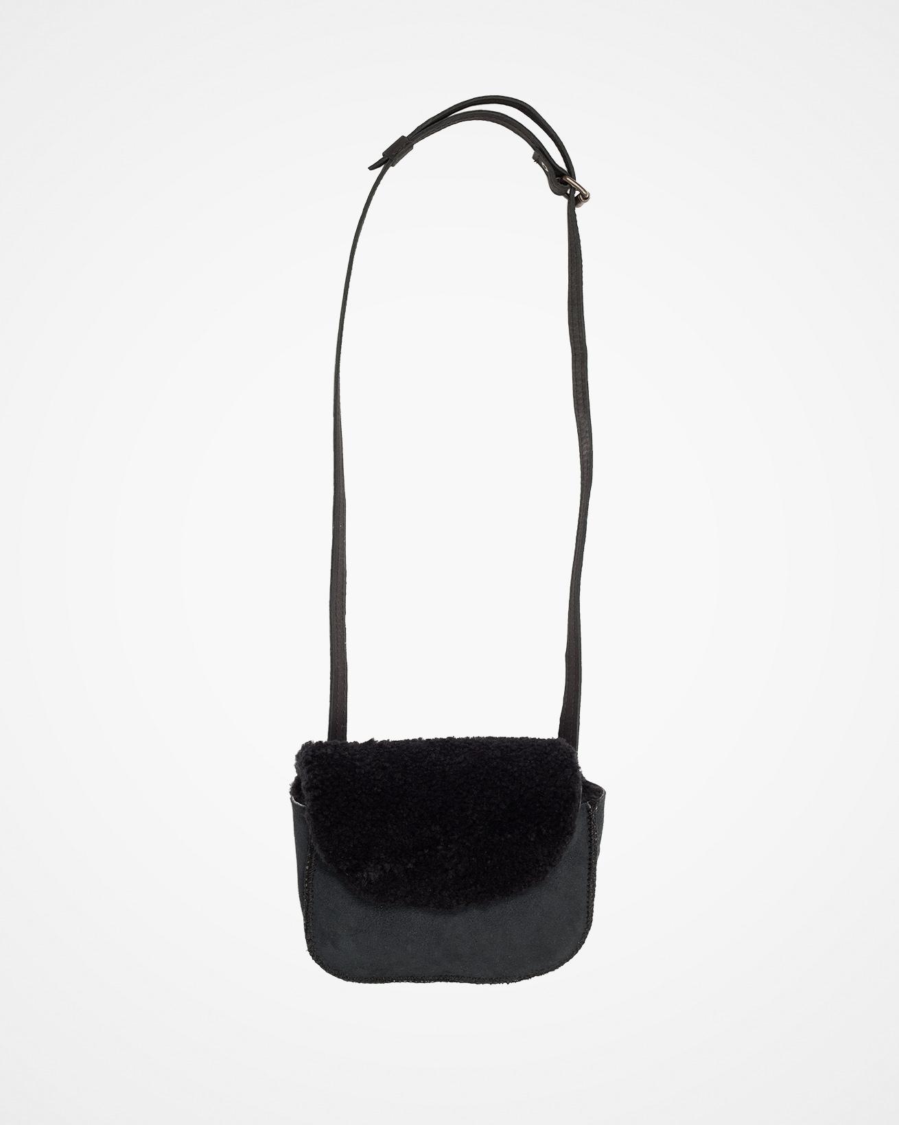 Shearling Belt Bag