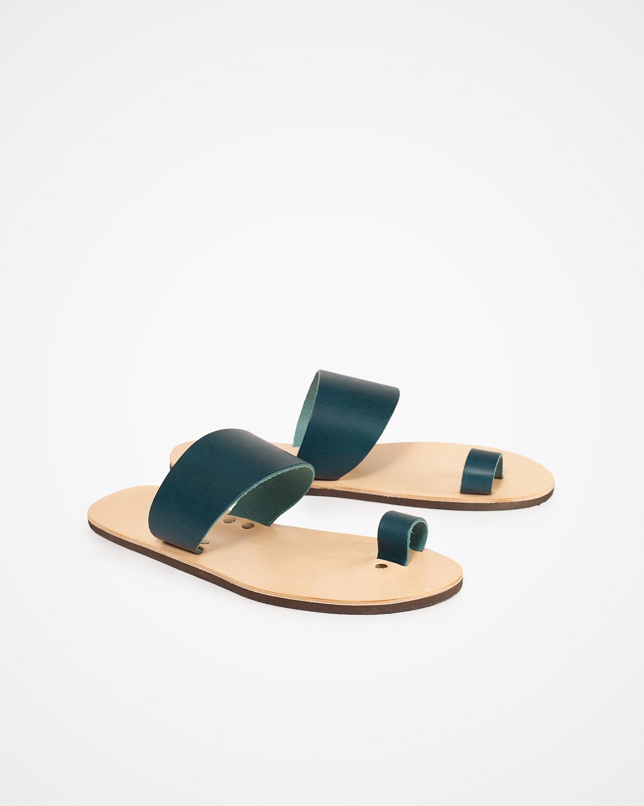 Toe Strap Sandal - UK 8 - Icelandic Blue - 1309