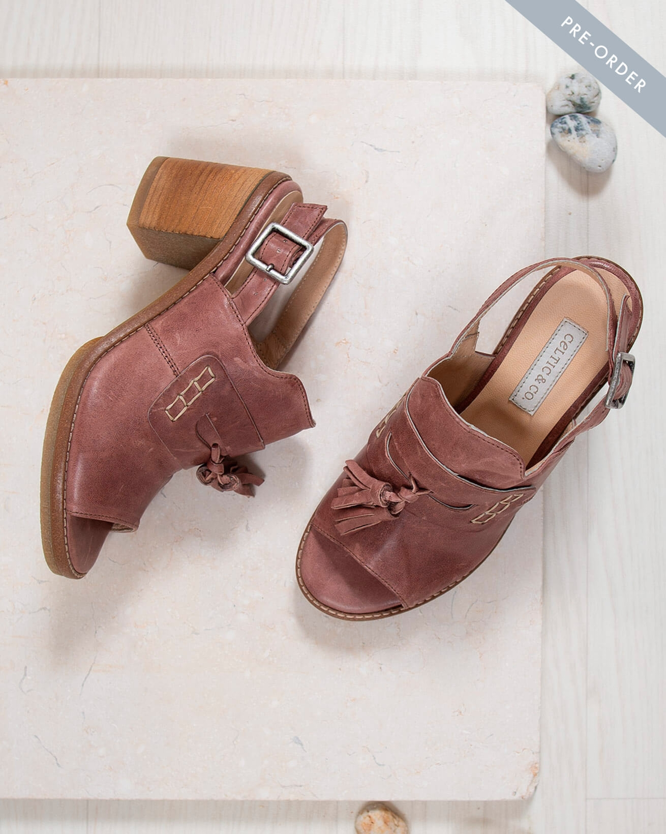 Tassel Loafer Mules