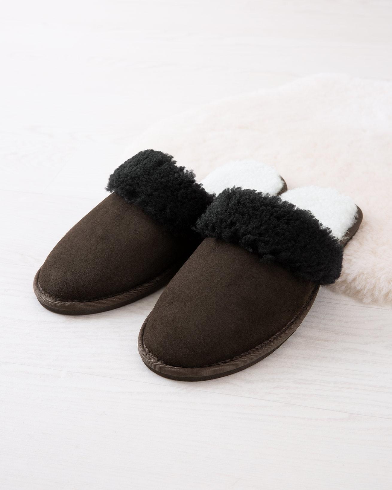 Men's Sheepskin Mules