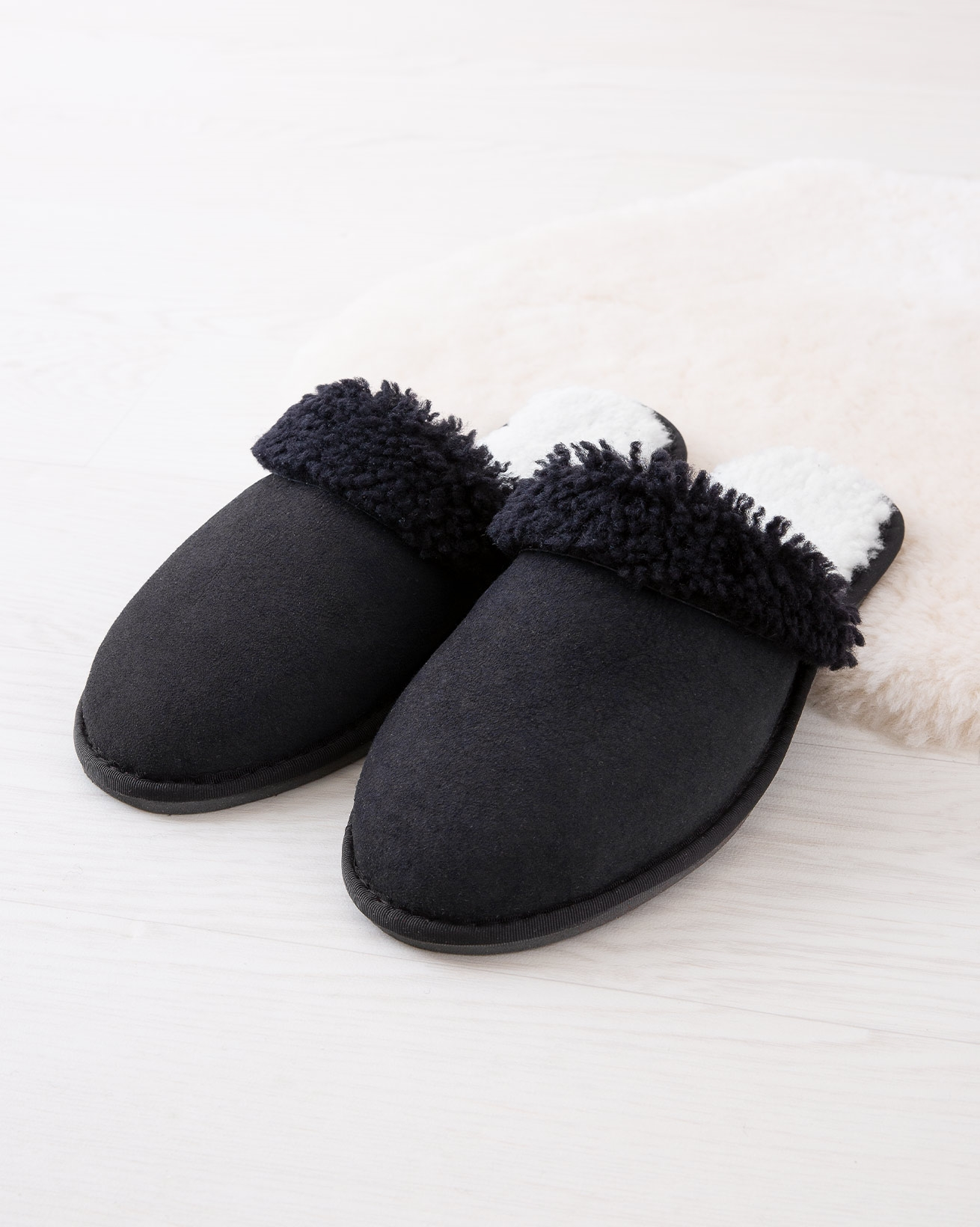 Men's Shearling Mules