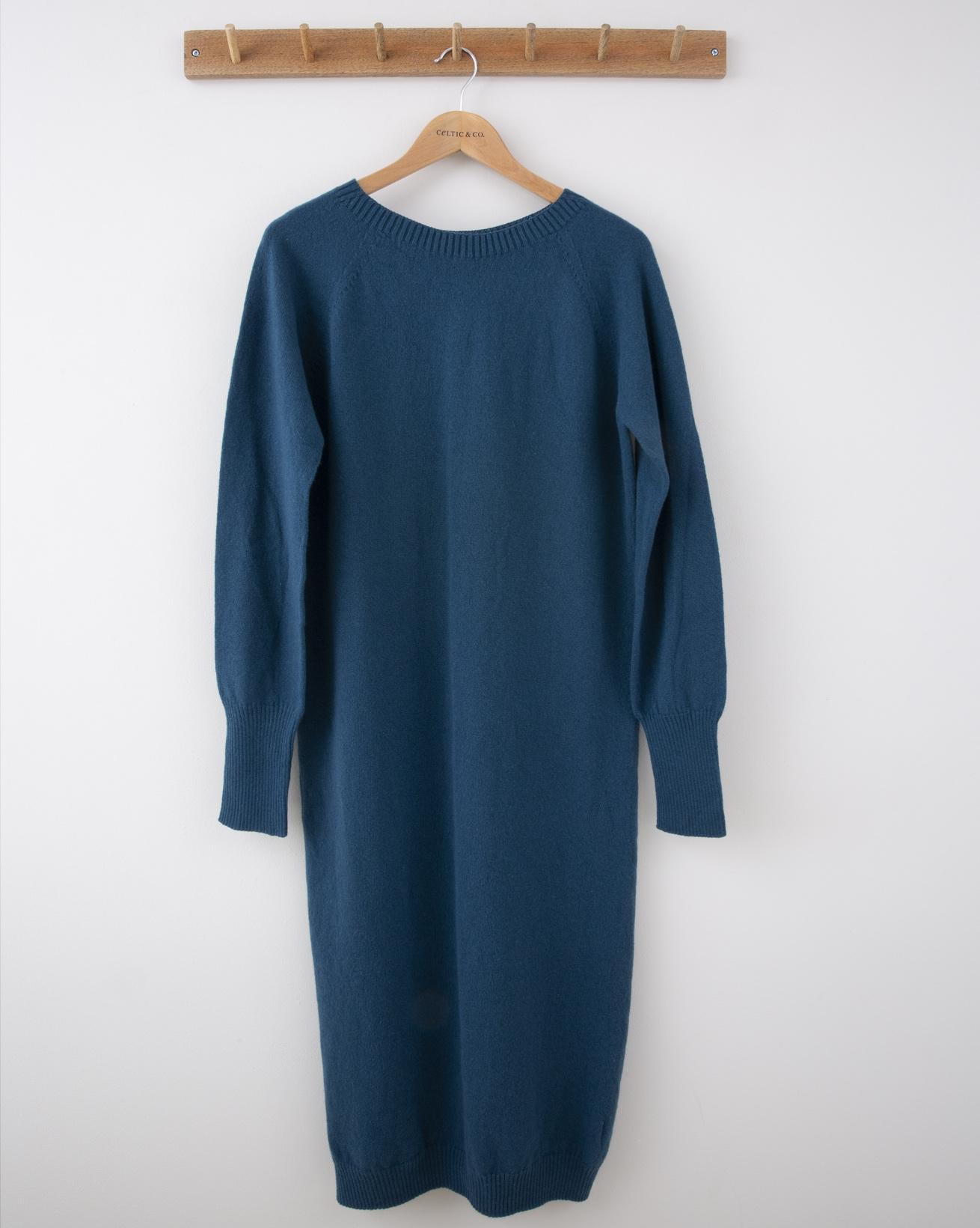 Supersoft Midi Dress - Small - Icelandic Blue - 1271