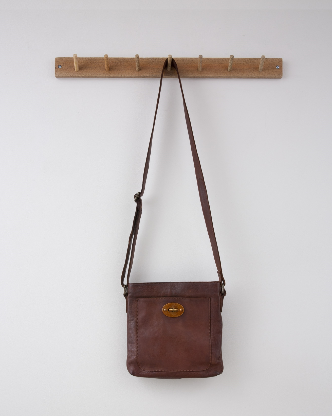 Rigger Bag - 24cm x 25cm - Antique Cognac - 1299
