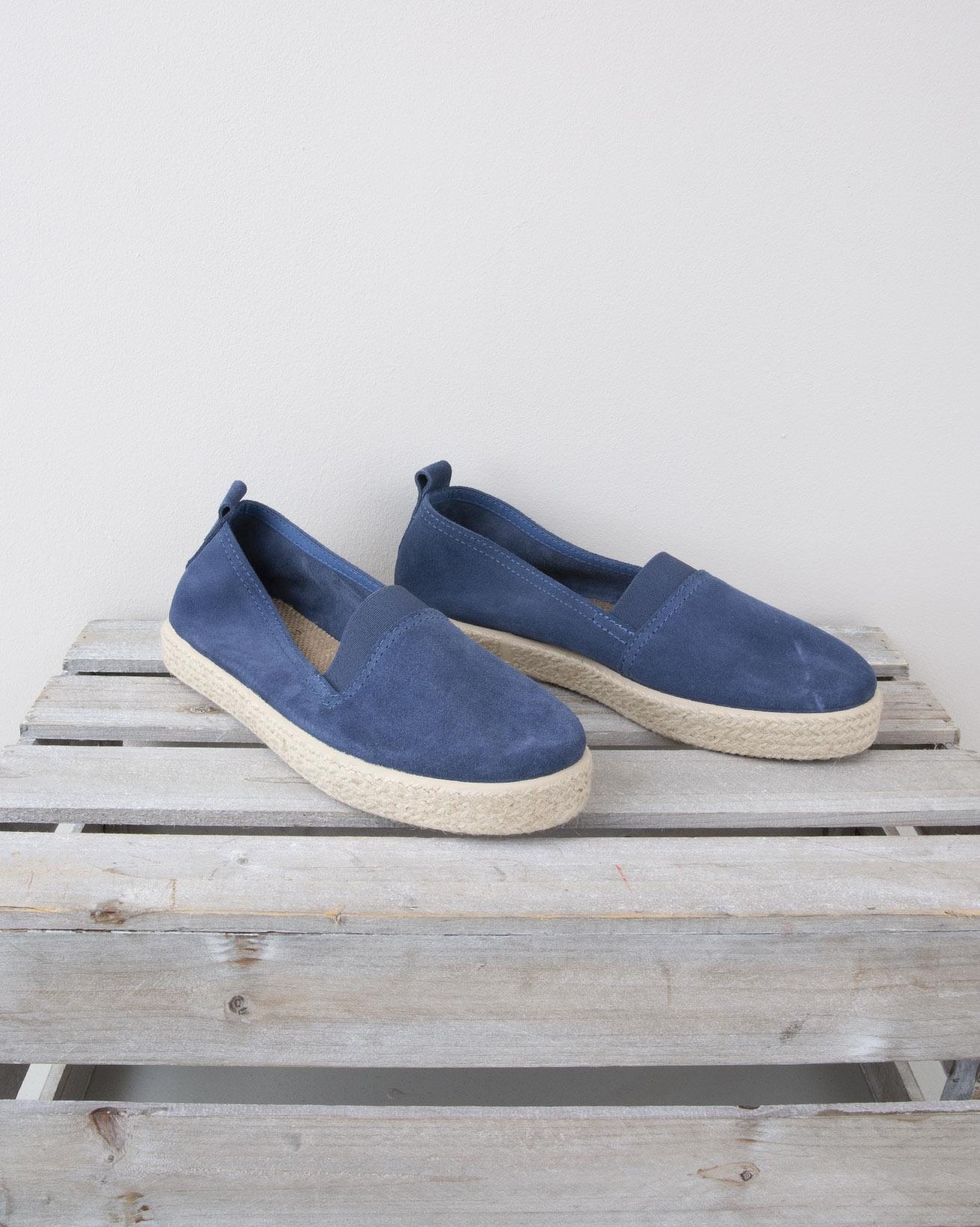 Slip on Espadrille - Size 40 - Blue - 1317