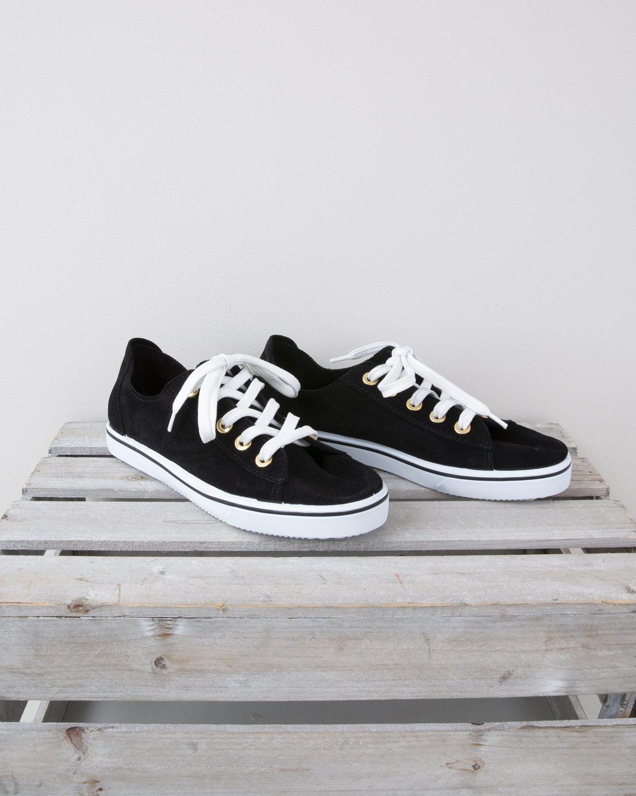 lace Up Pump - Size 40 - Black - 1318