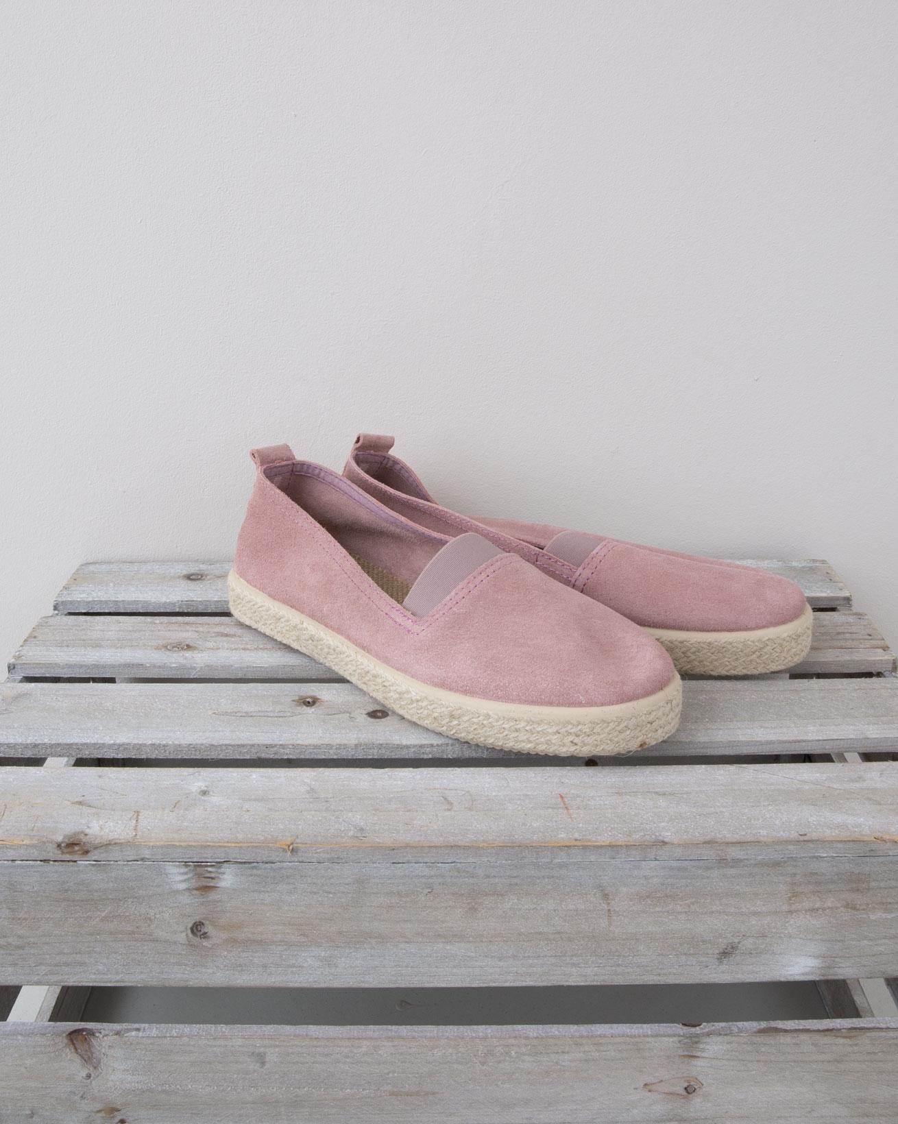 Slip on Espadrille - Size 40 - Pink - 1336