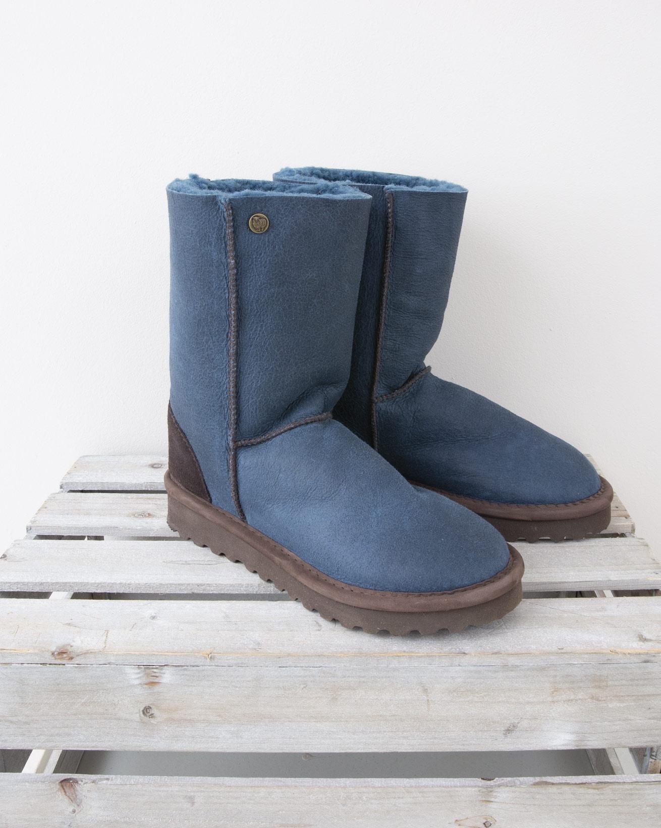 Celt Boot Reg - Size 6 - Icelandic Blue Nappa finish - 1352
