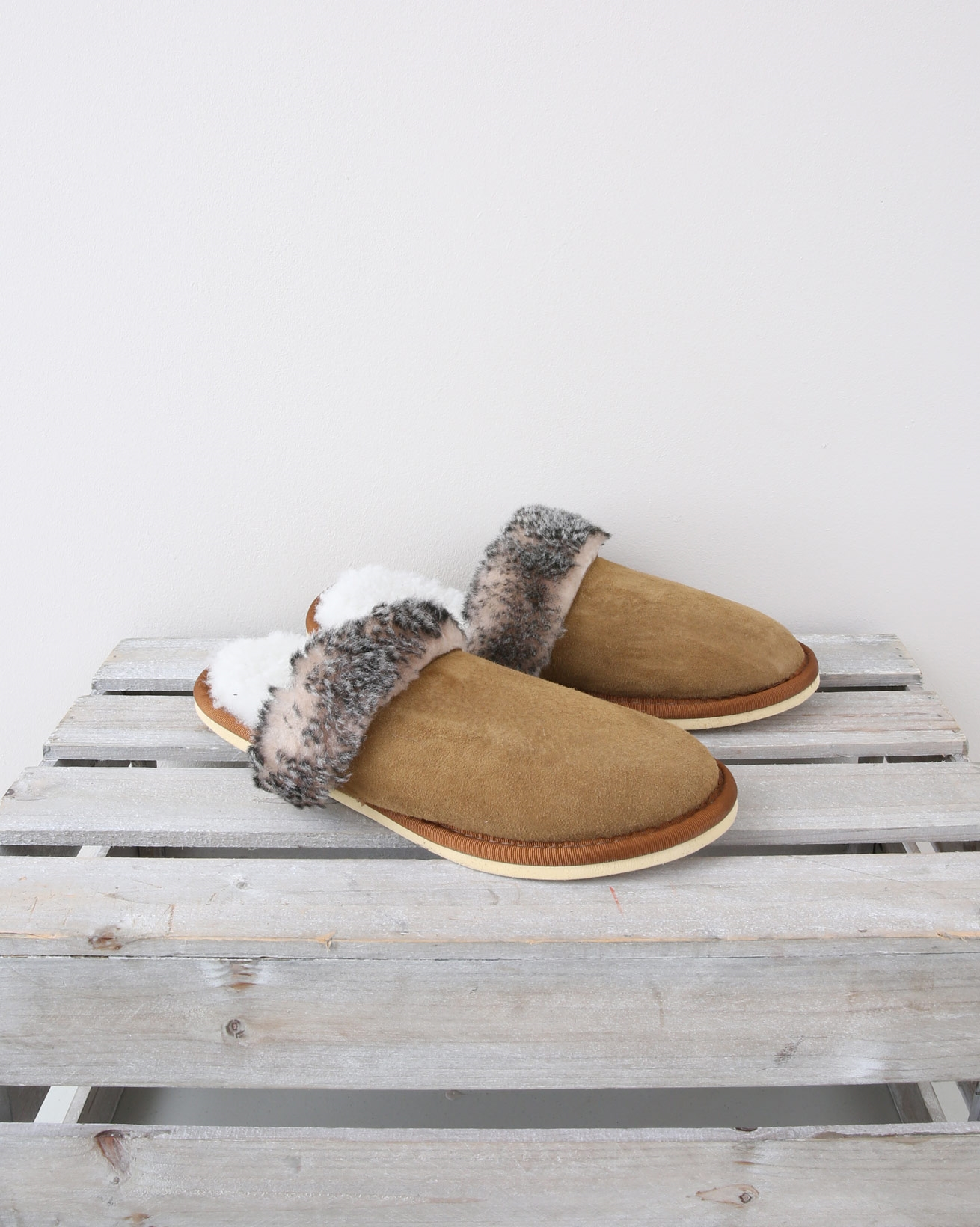 Ladies Turnback Mule - Size 6 - Spice Tipped - 1363