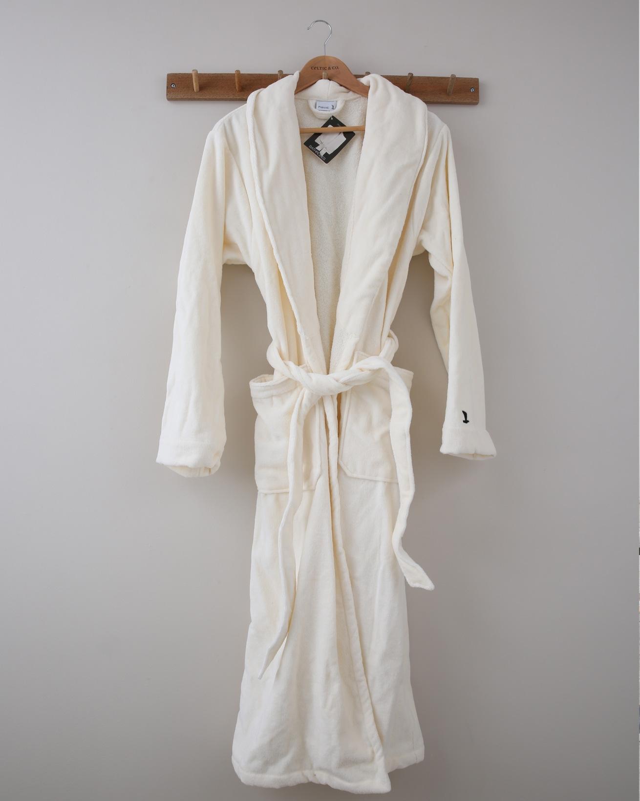 Full Length Dressing Gown - XS - Cream - 1367