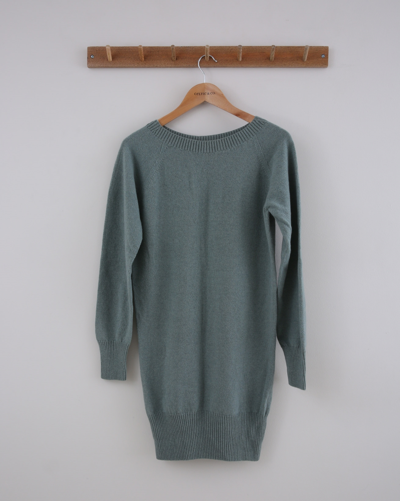 Supersoft Slouch Jumper - Small - Sage - 1430