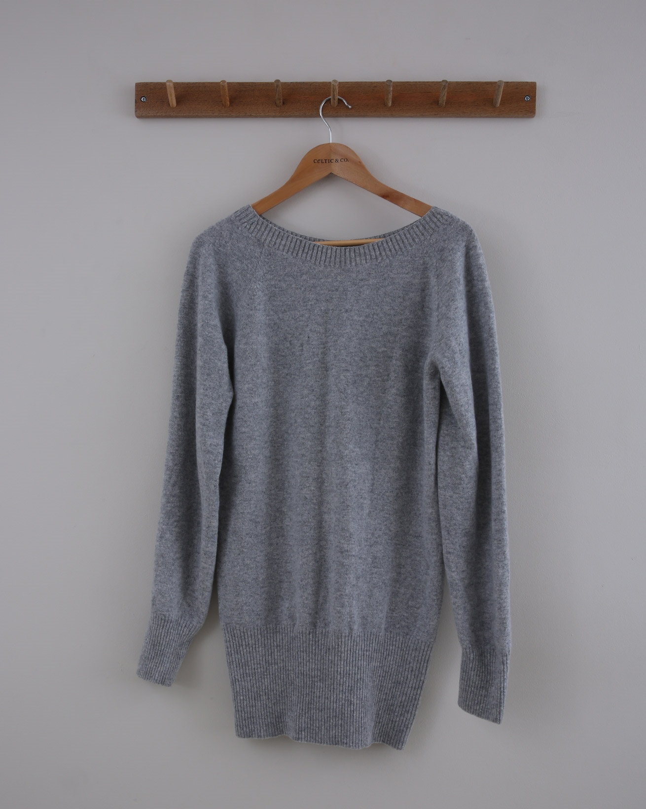 Supersoft Slouch Jumper - Small - Grey Marl - 1432