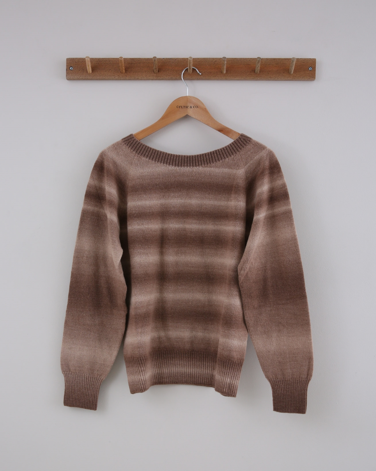 Supersoft Jumper - Small - Brown Ombre - 1433