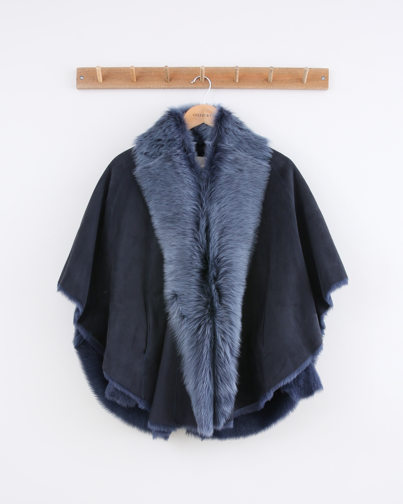 Toscana Cape - Size Small - Clear Blue - 1476