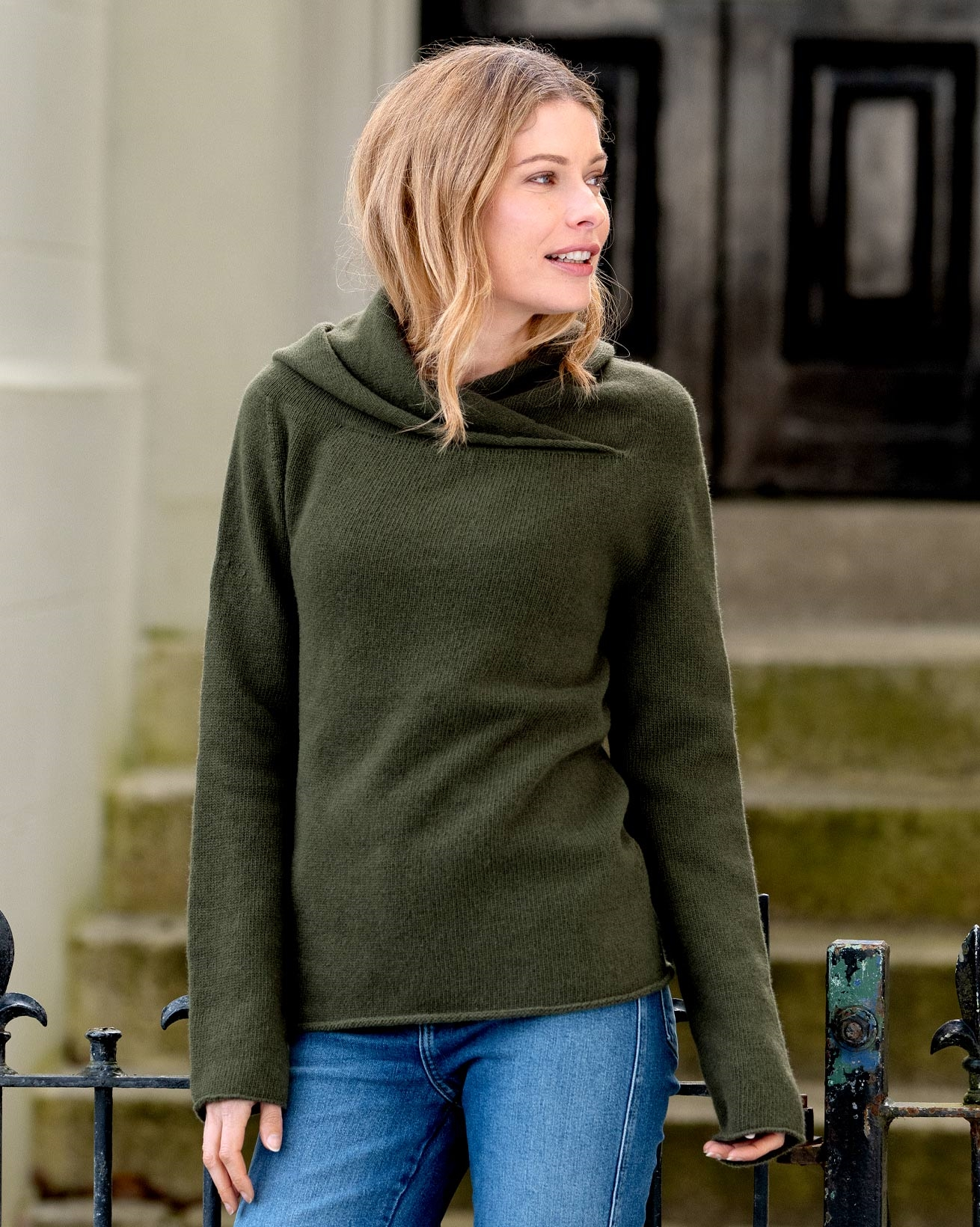 Collared Slouch