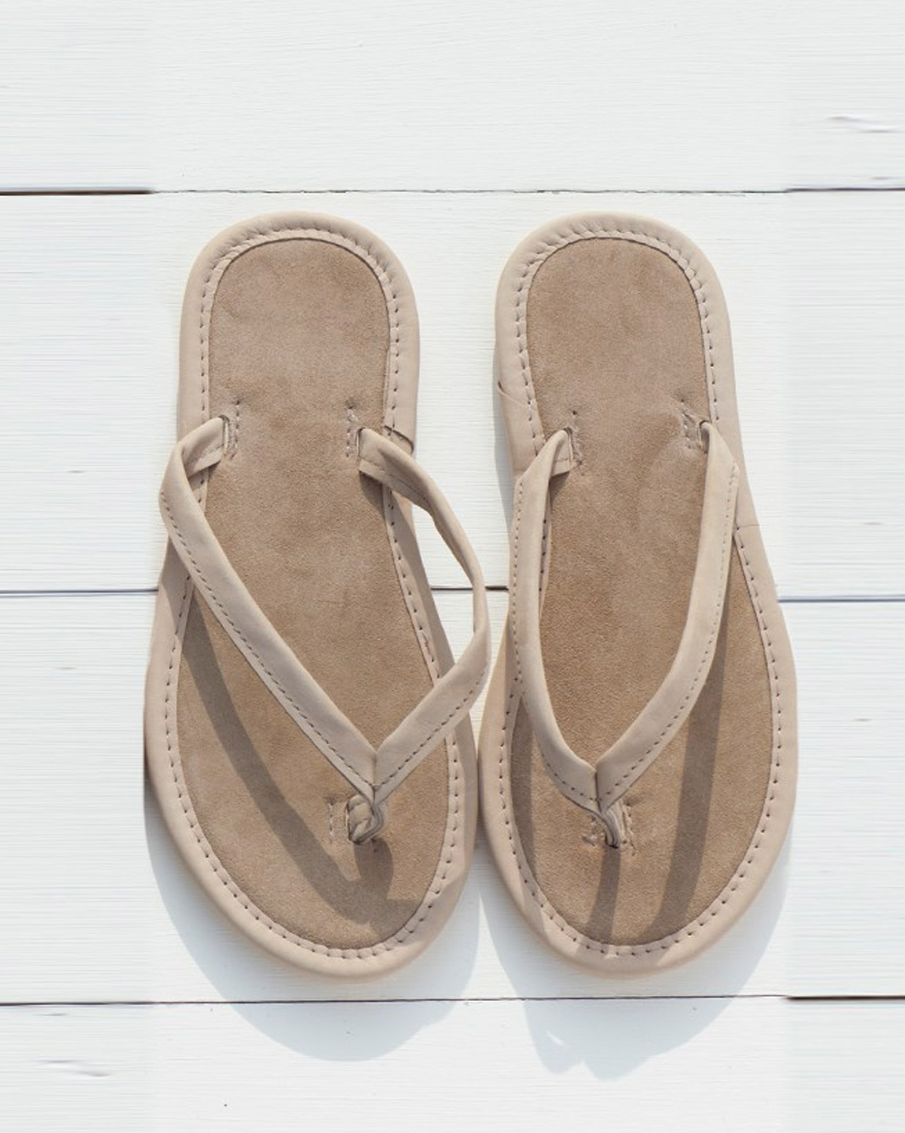 Nubuck & Suede Flip-flops
