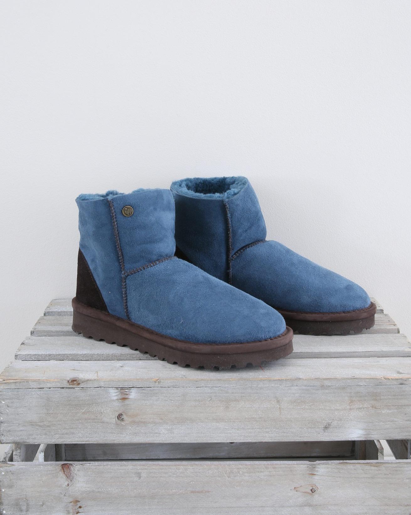 Celt Shortie Boots - Size 6 - Icelandic Blue - 1556