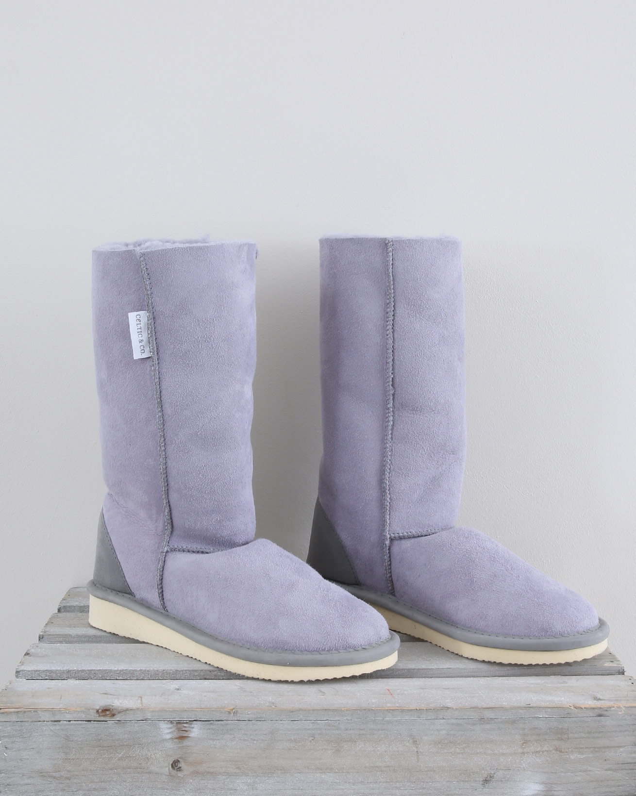 Celt House Boots - Calf - Size 6 - Dapple Grey - 1559