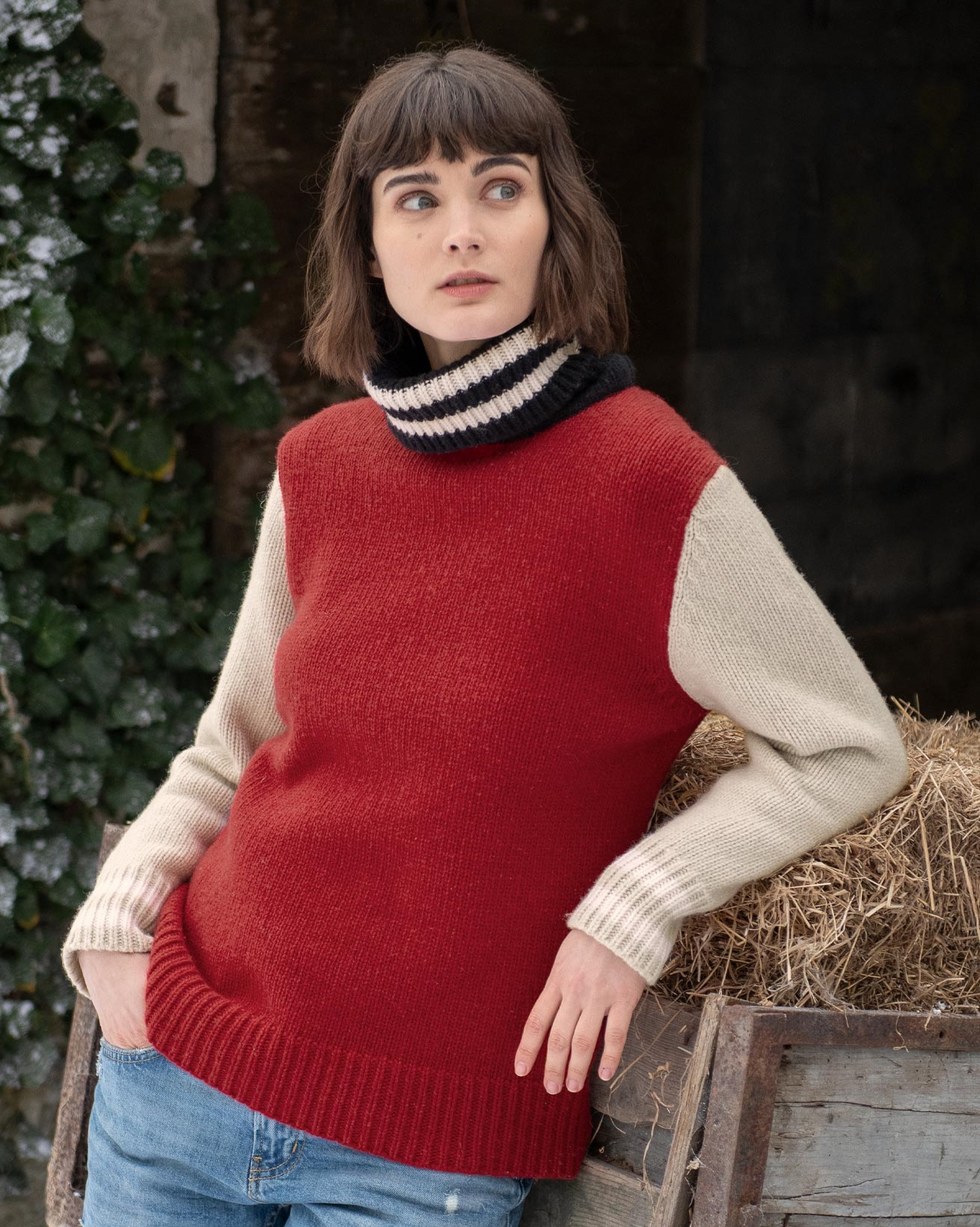 Alpine Easy Slouch Turtleneck