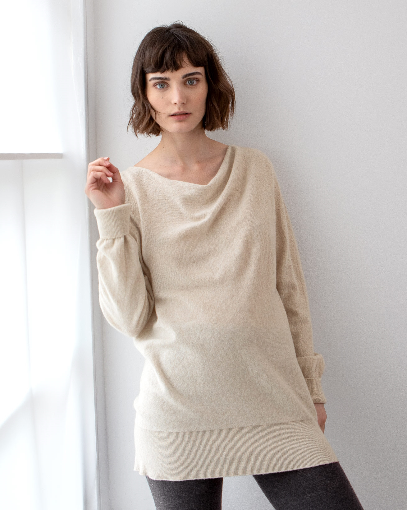 Soft Cowl Jumper