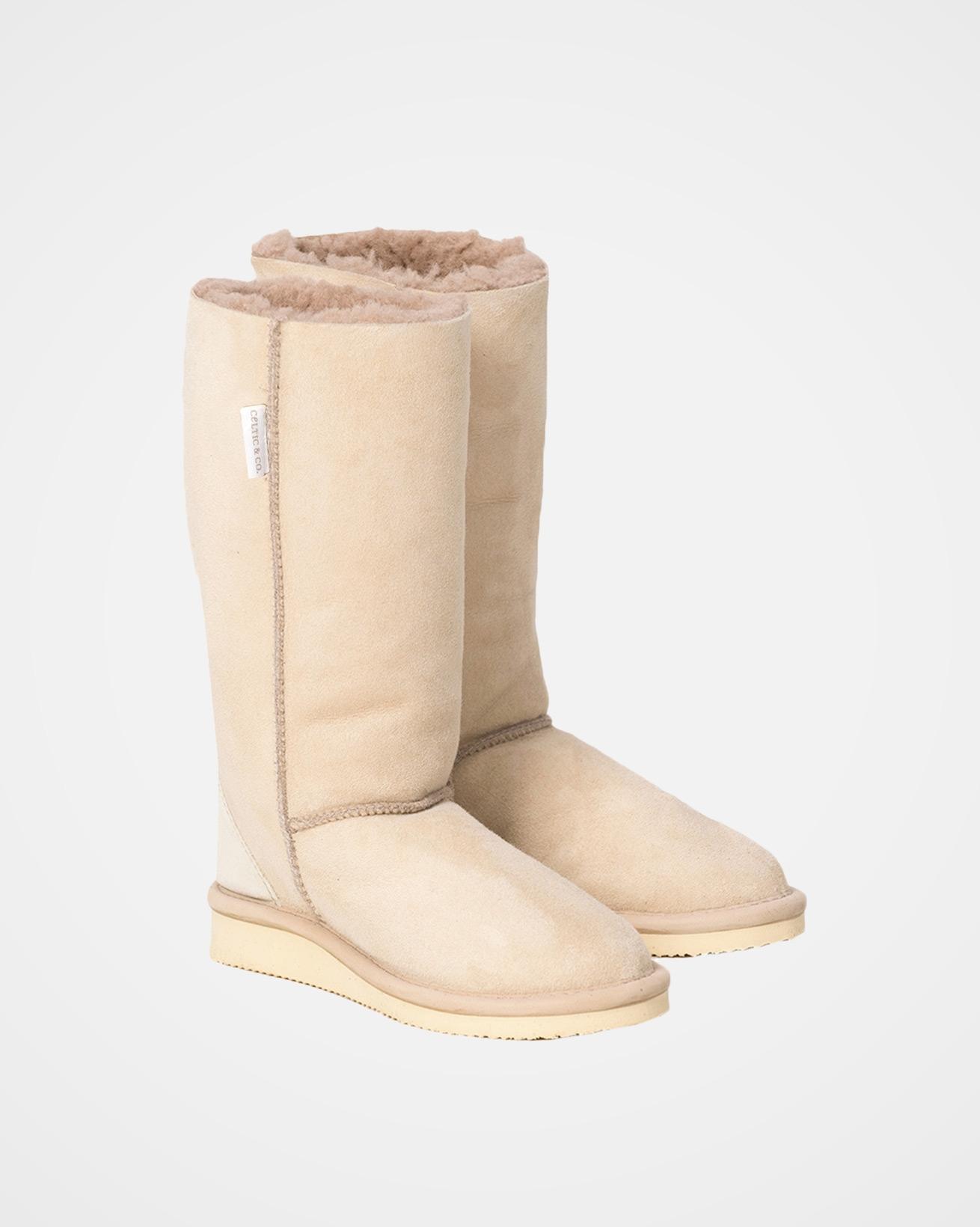House Boot Calf - Size 6 - Oatmeal - 2021