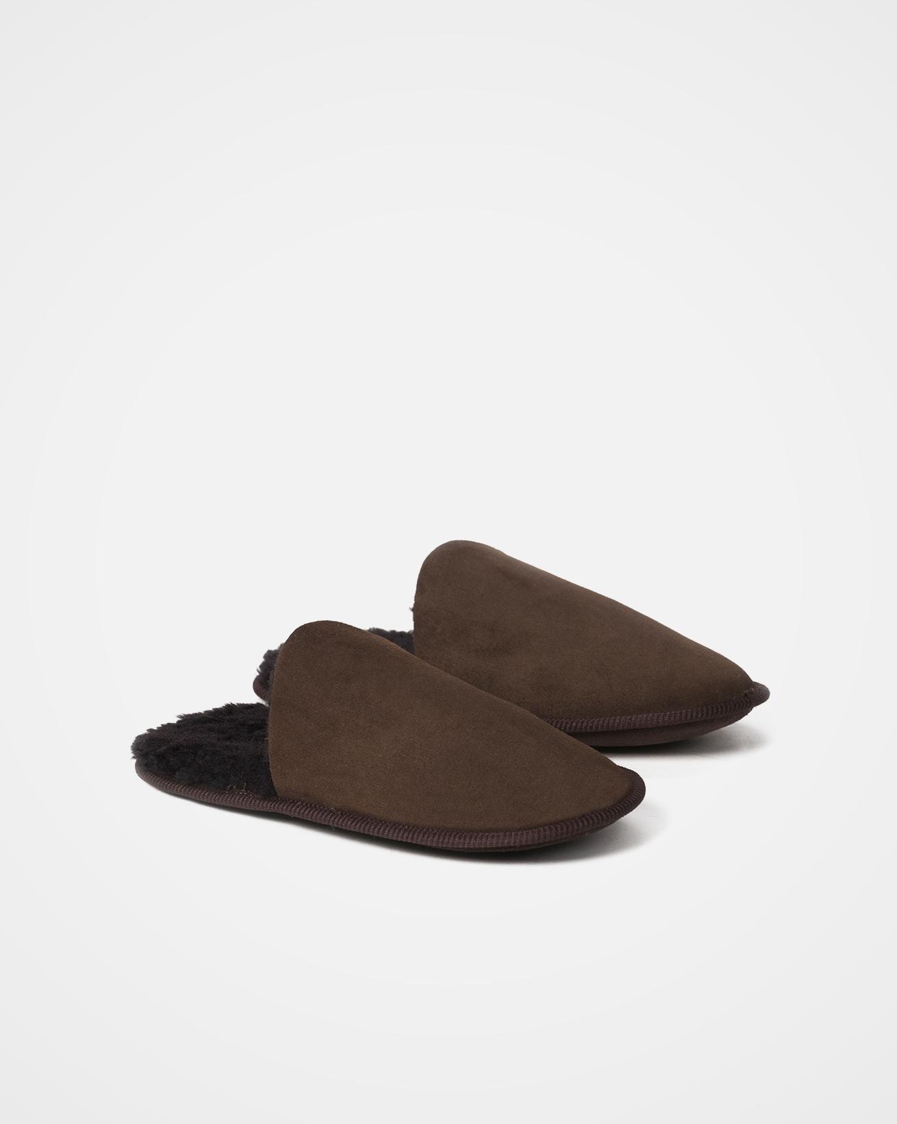 Sheepskin Scuffs - Size XL - Mocca - 2040