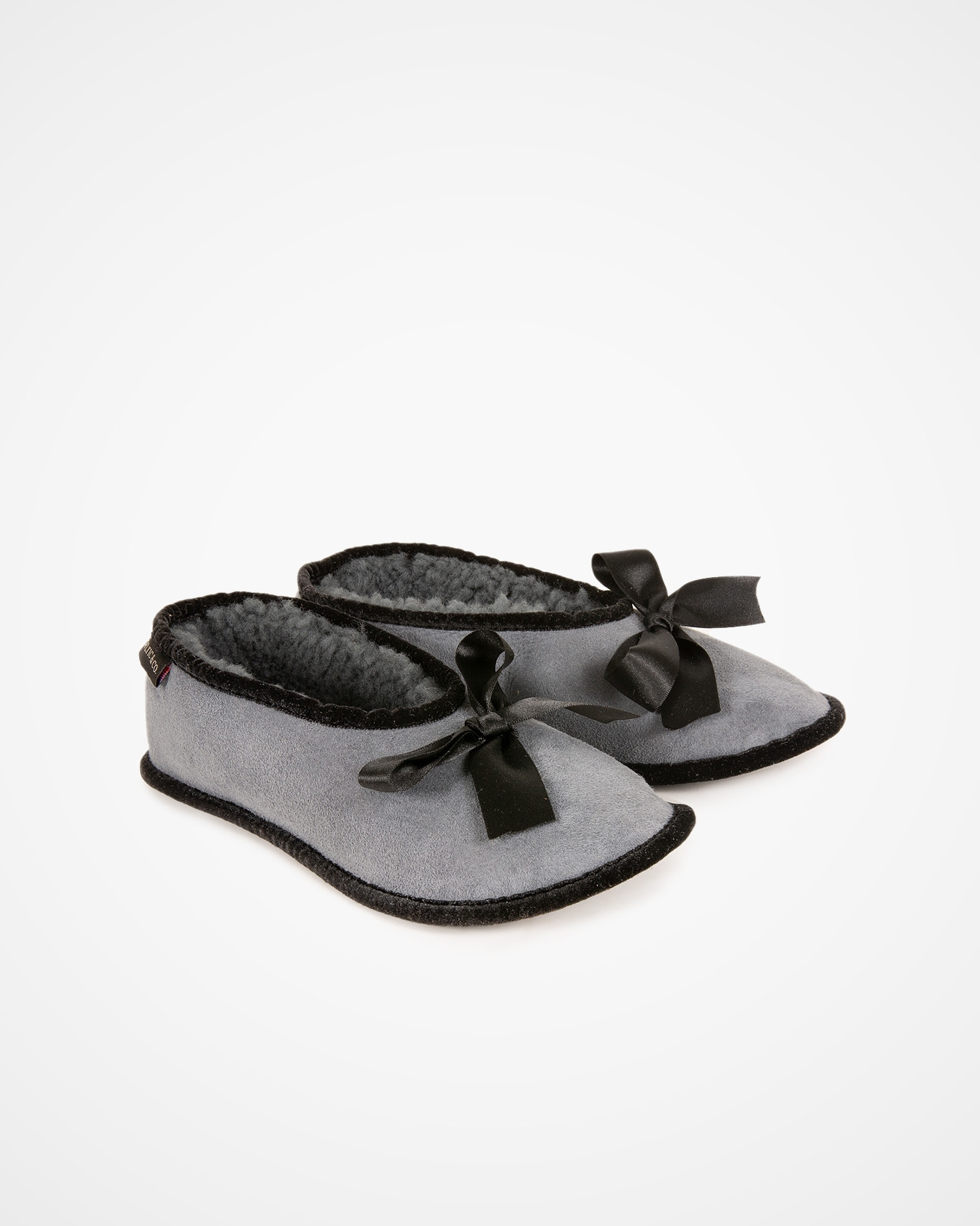 Shearling Ballerina Slipper