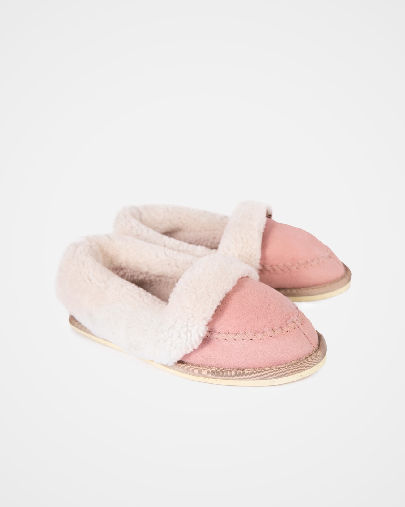 Halona Slippers - Size 7 - Light Pink - 2029
