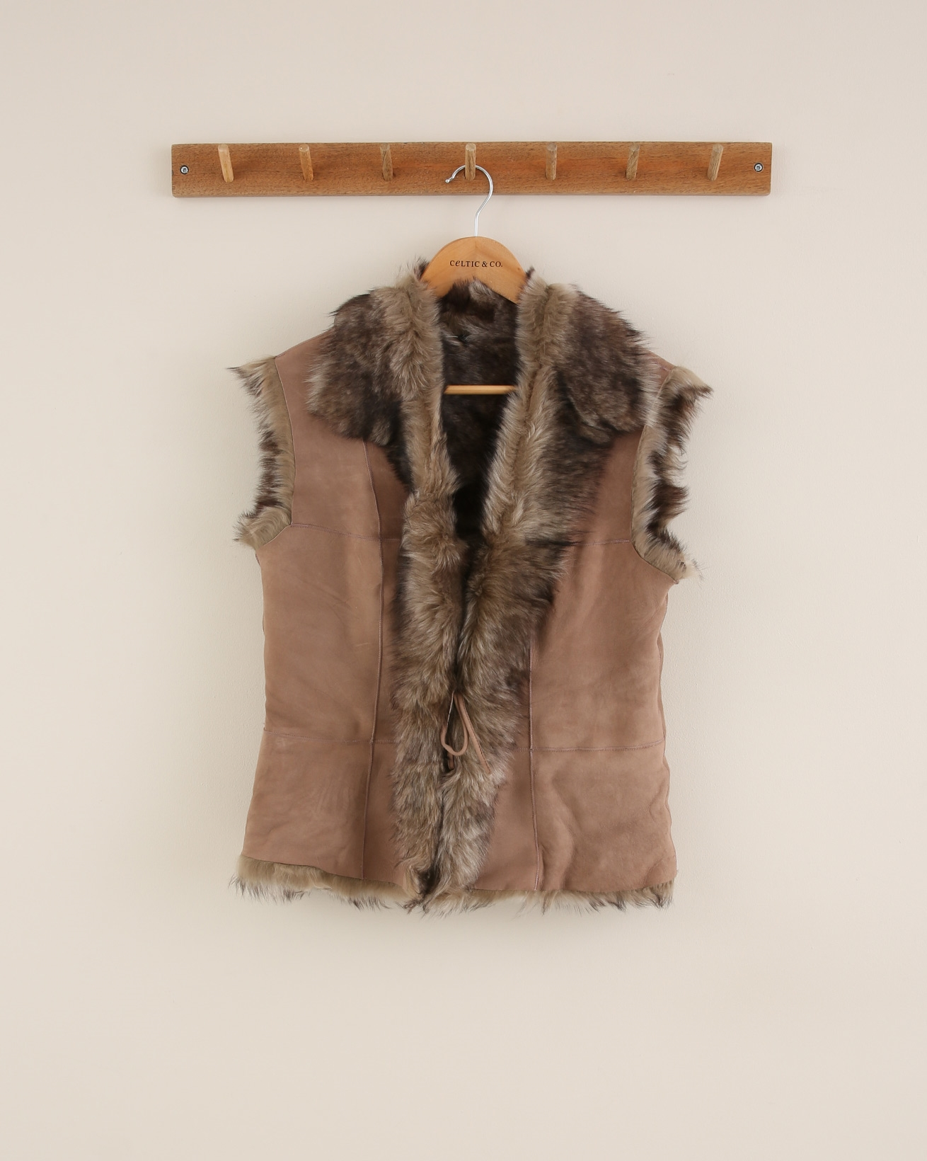 Toscana Gilet - Size 10 - Taupe - 1666