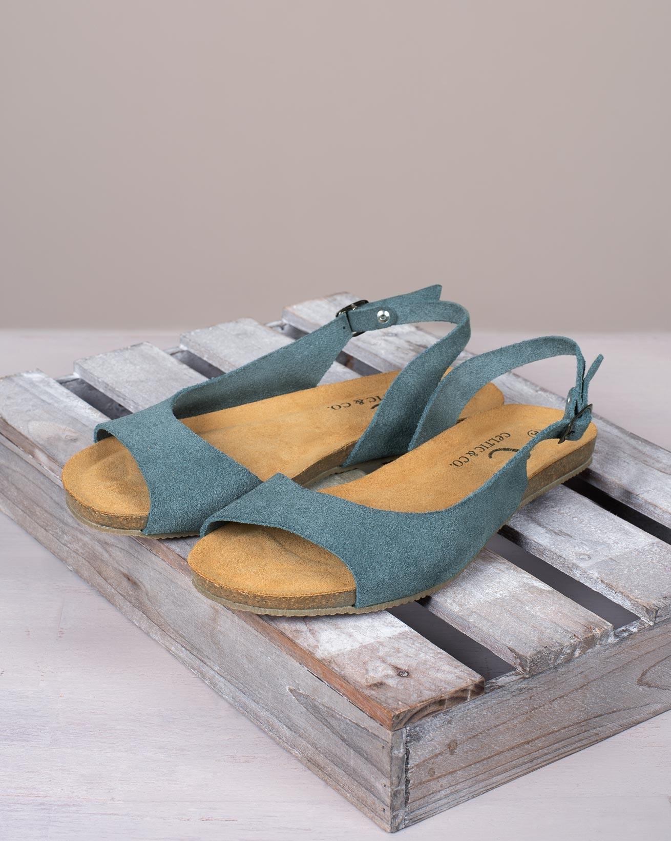 Sling Back Flat Sandals