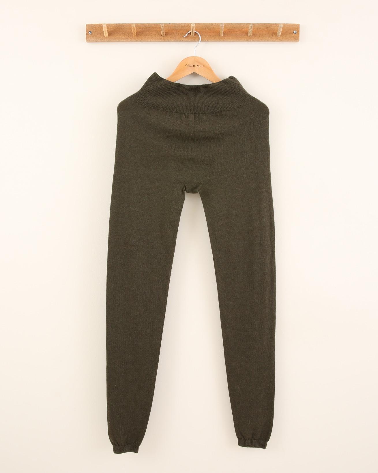 Merino Lounge Pants - Size Small - Khaki - 1850