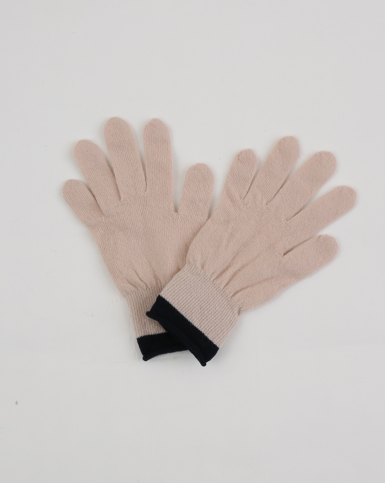 Tipping Stripe Glove - One Size - Peony/Navy - 1891