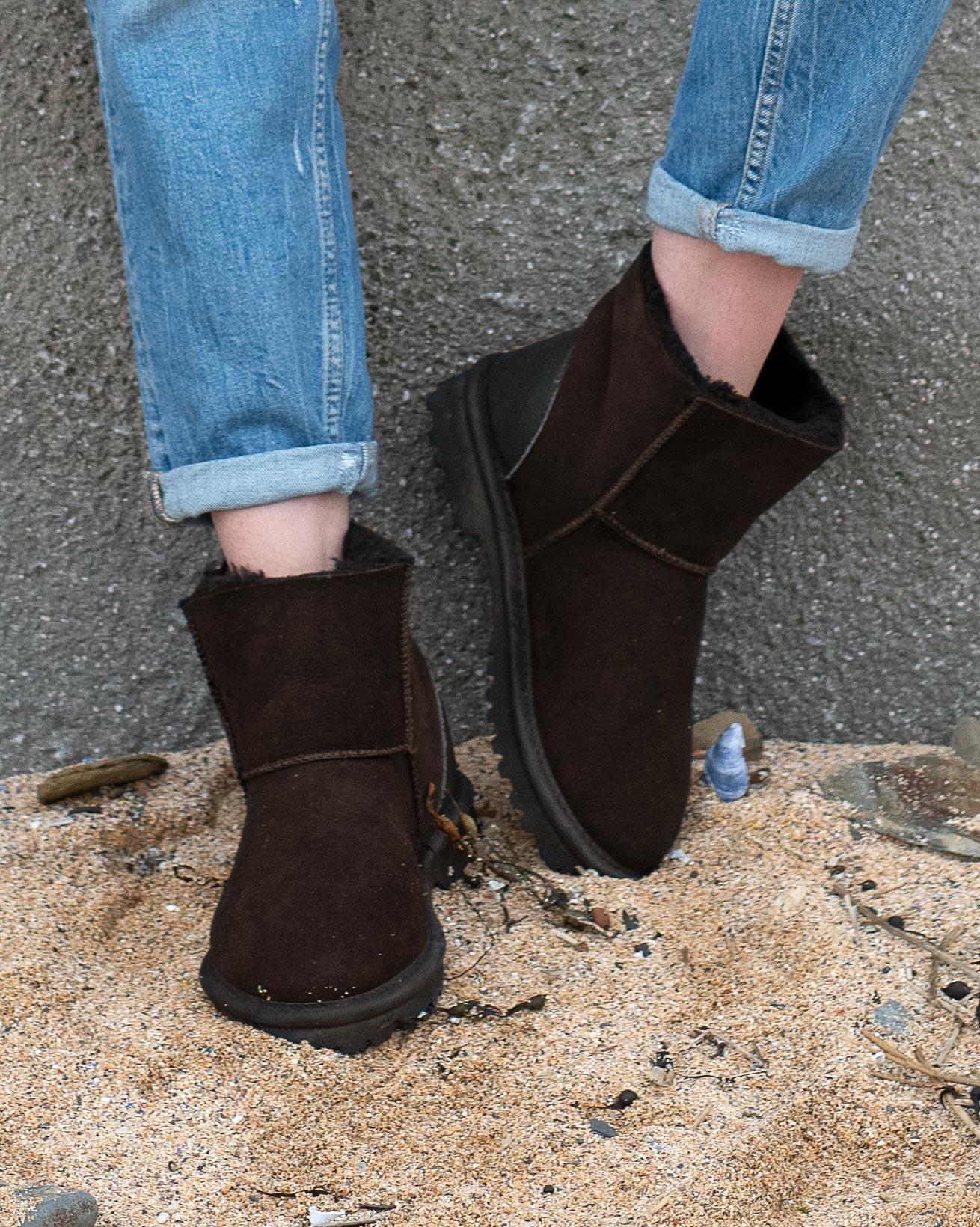 Kurze Aqualamb-Stiefel