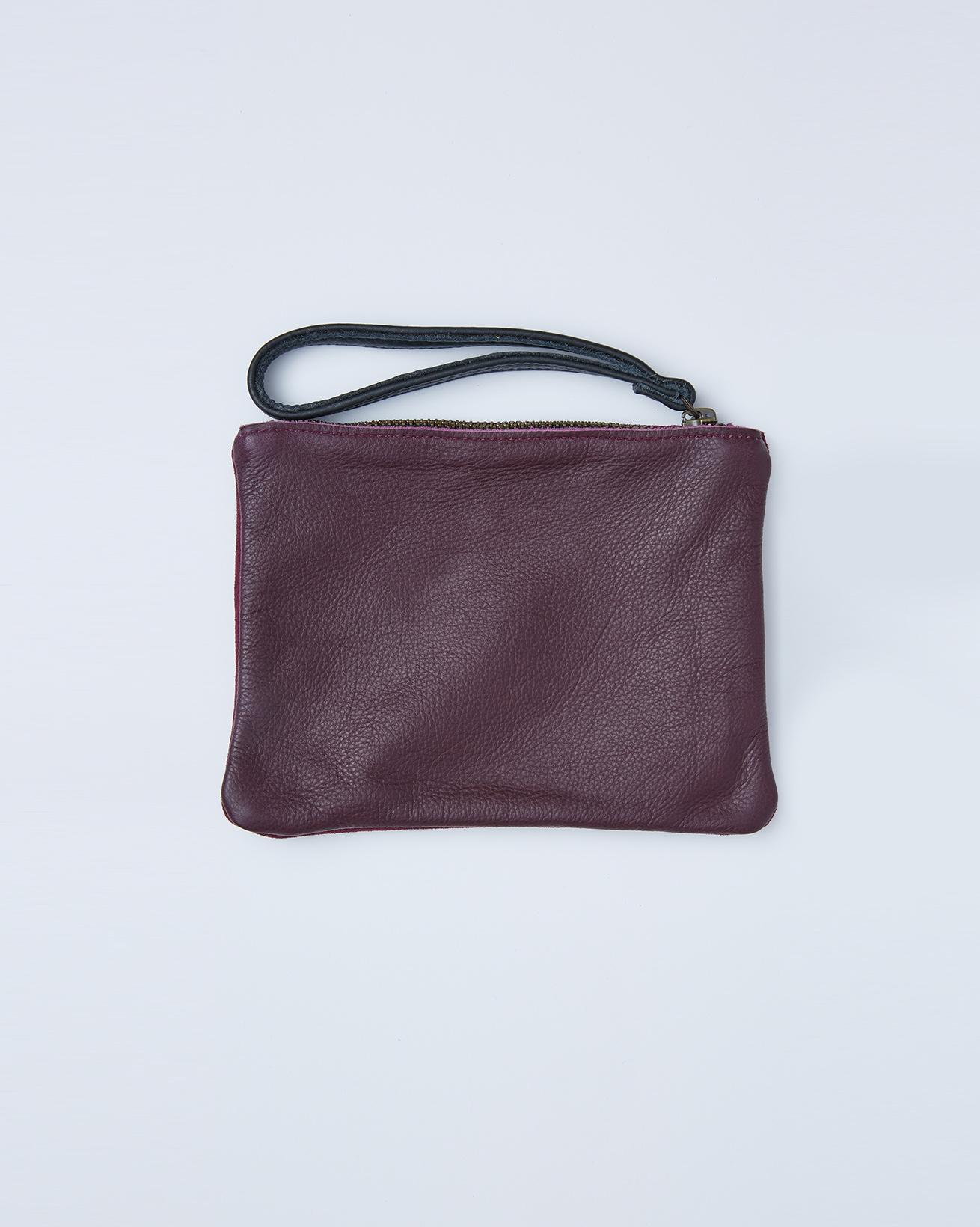 Small Clutch Bag Tidy - One/Size - Damson - 2417