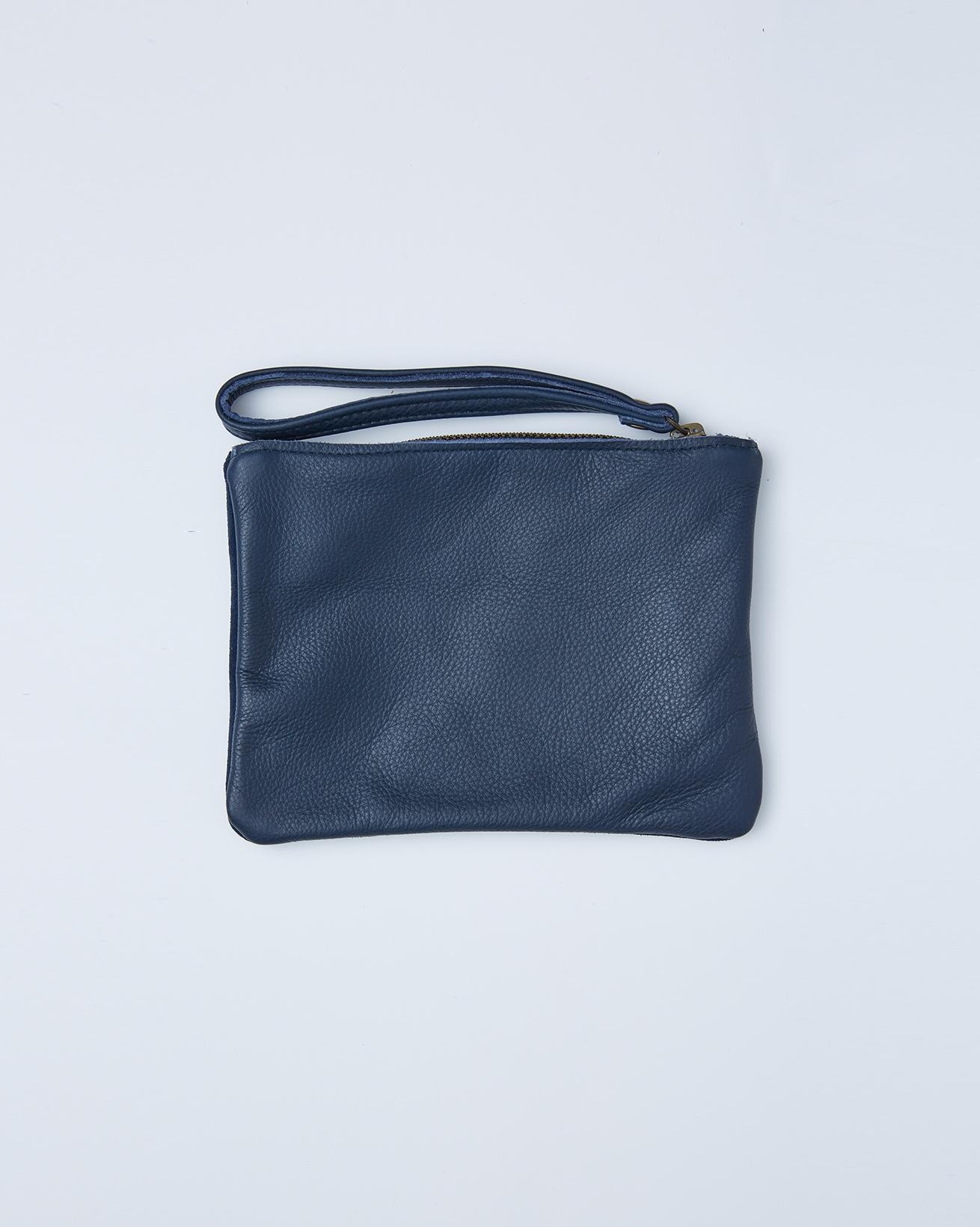 Small Clutch Bag Tidy- One/Size -  Dark Navy - 2418