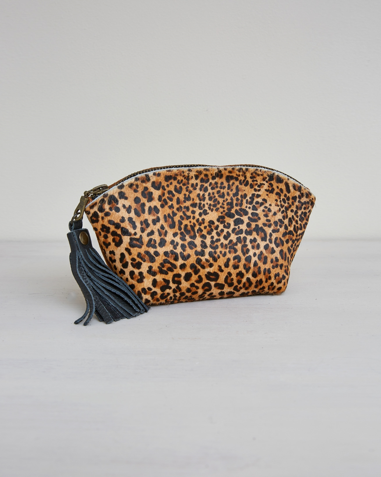 Cosmetics Pouch Bag Tidy - One/Size -  Leopard - 2420
