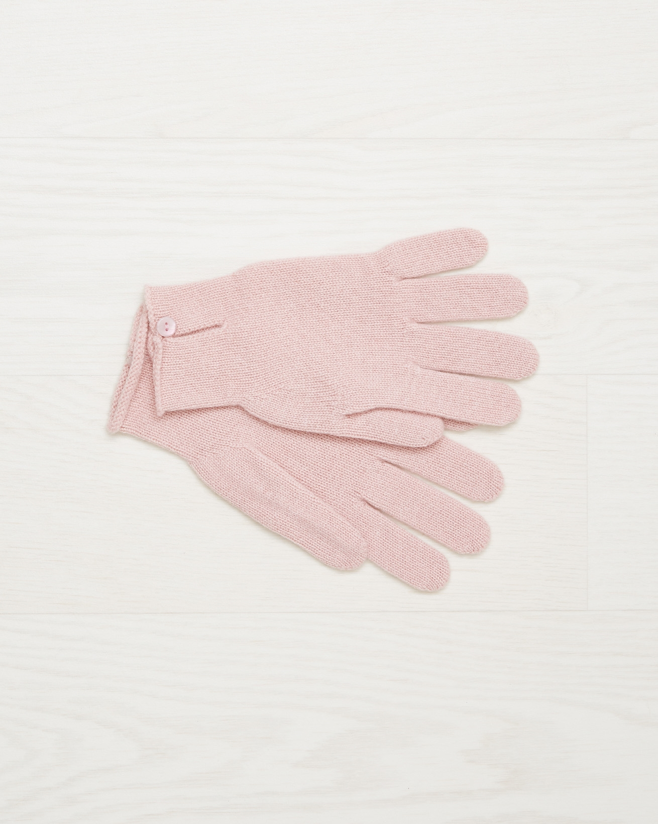 Cashmere button gloves - Peony - One Size - 2499