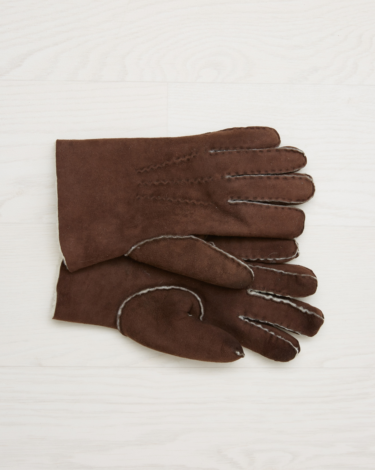 Sheepskin Gloves - Mocca - Size Small - 2561