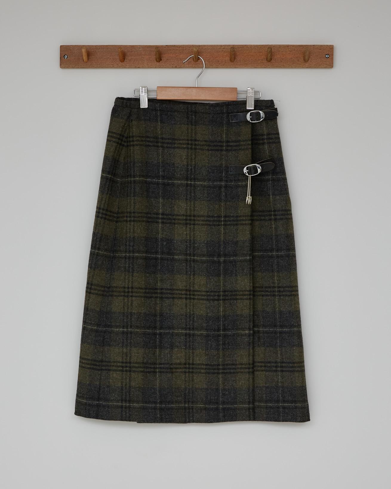Midi Kilt  - Cairngorm Heath - Size 10 - 2581