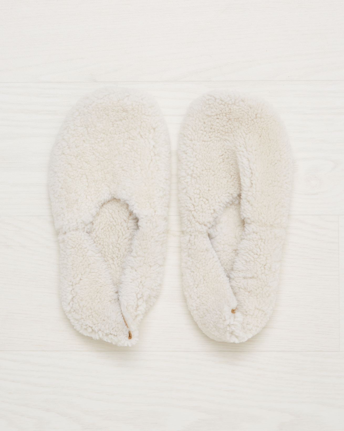 Cocoon slipper - Size 5 - Ivory - 2601