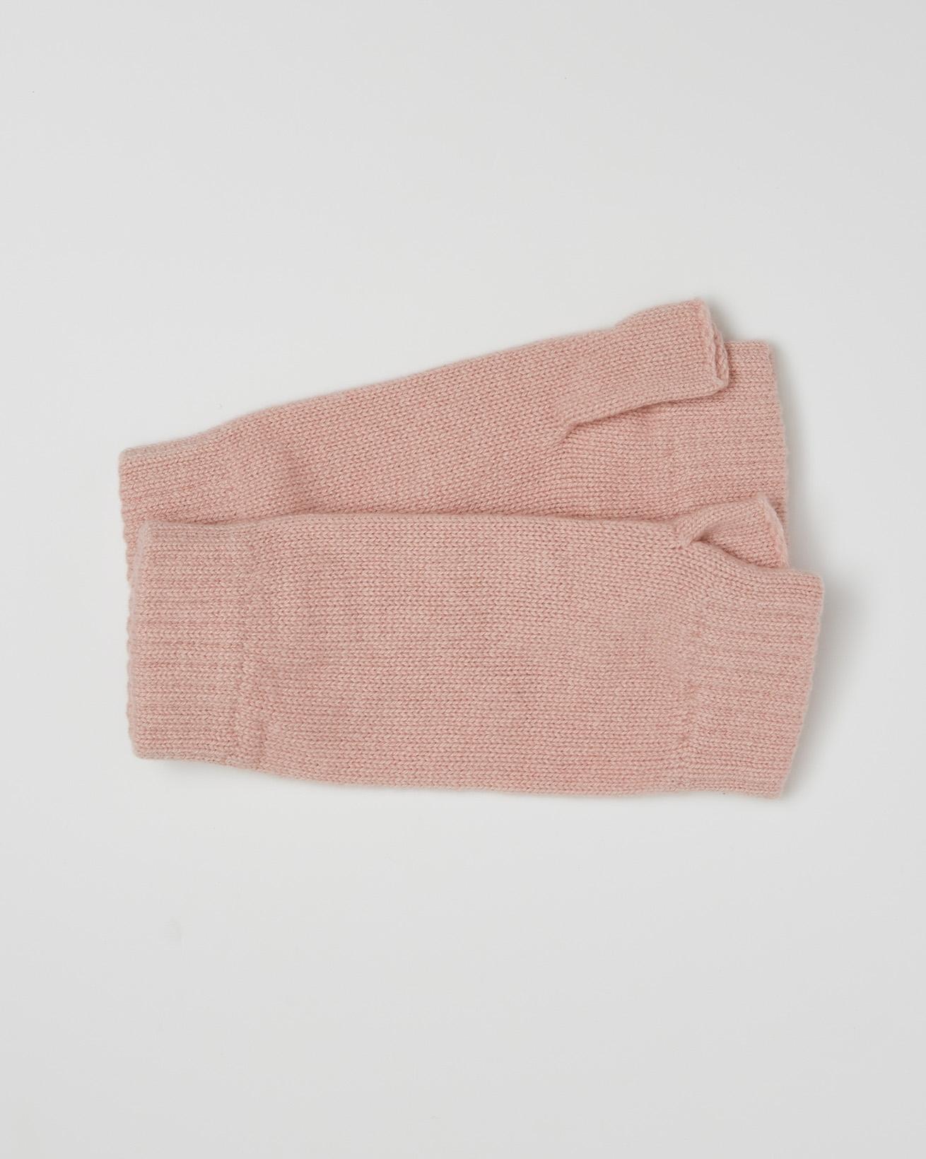 Cashmere Wristwarmers - Pink - One Size - 2616