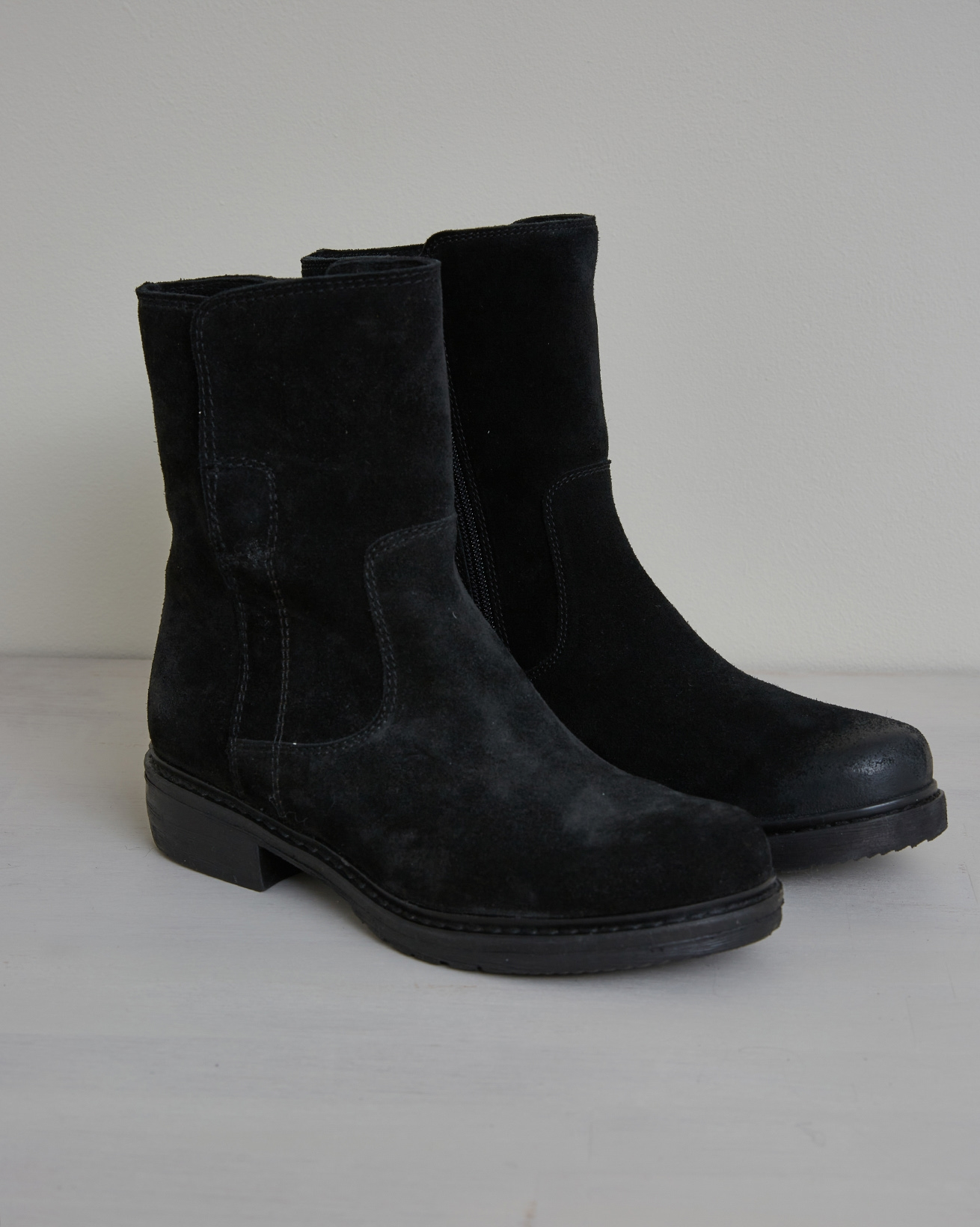 Essential Leather Ankle Boot - Size 37 - Black - 2639