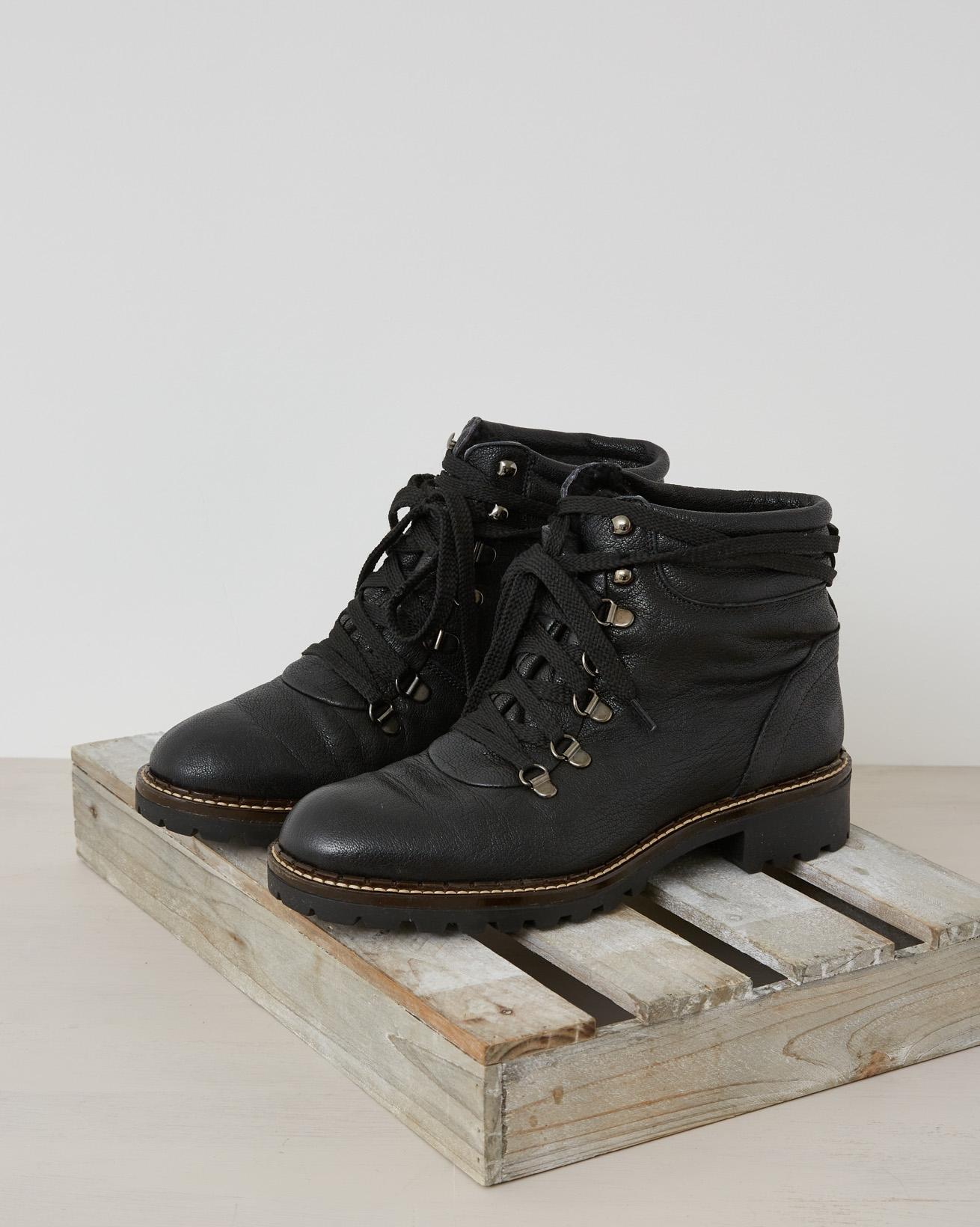 Hiker Boot - Black - Size 38 - 2541