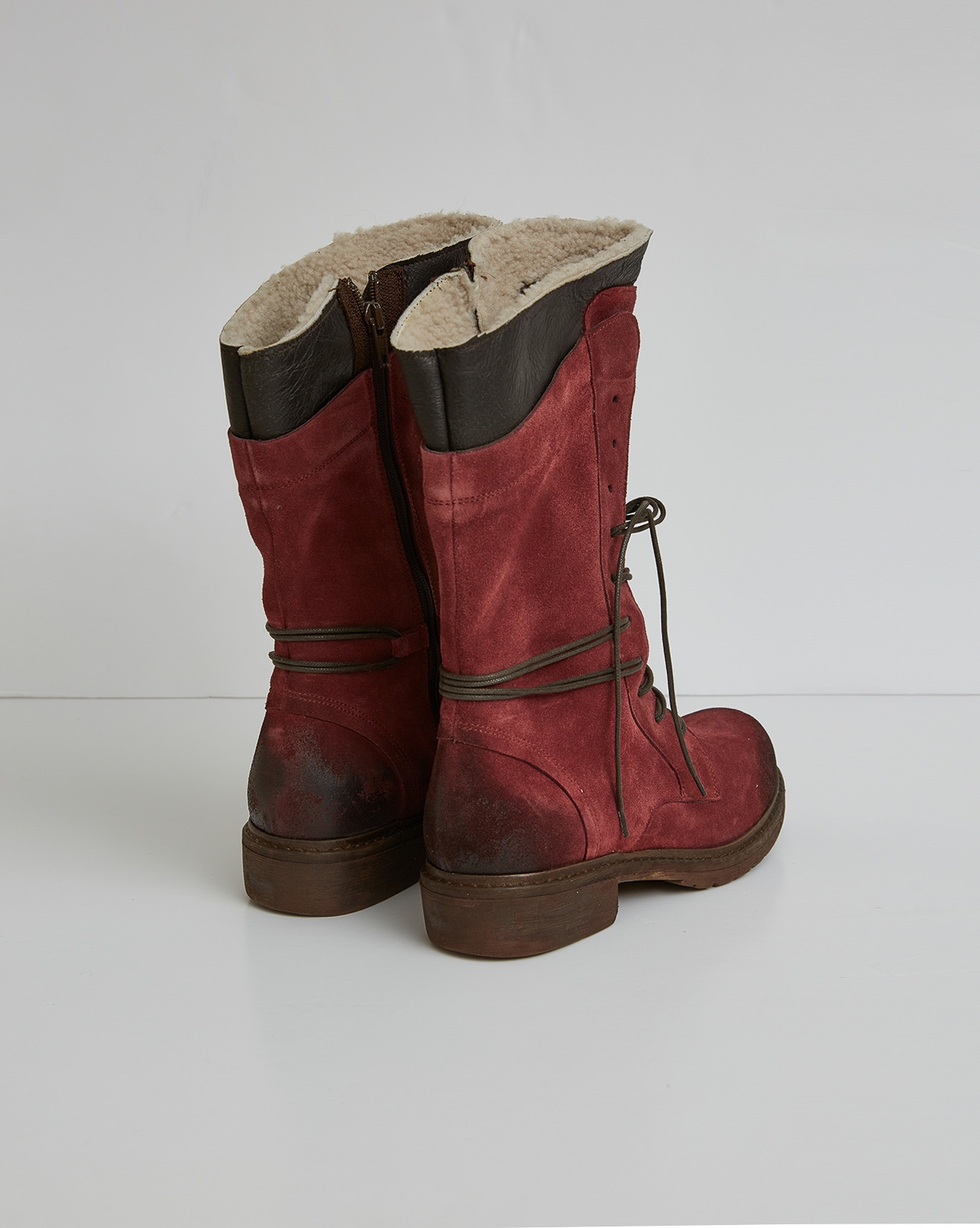 2759-woodsman boots - berry red - size 37 - back.jpg