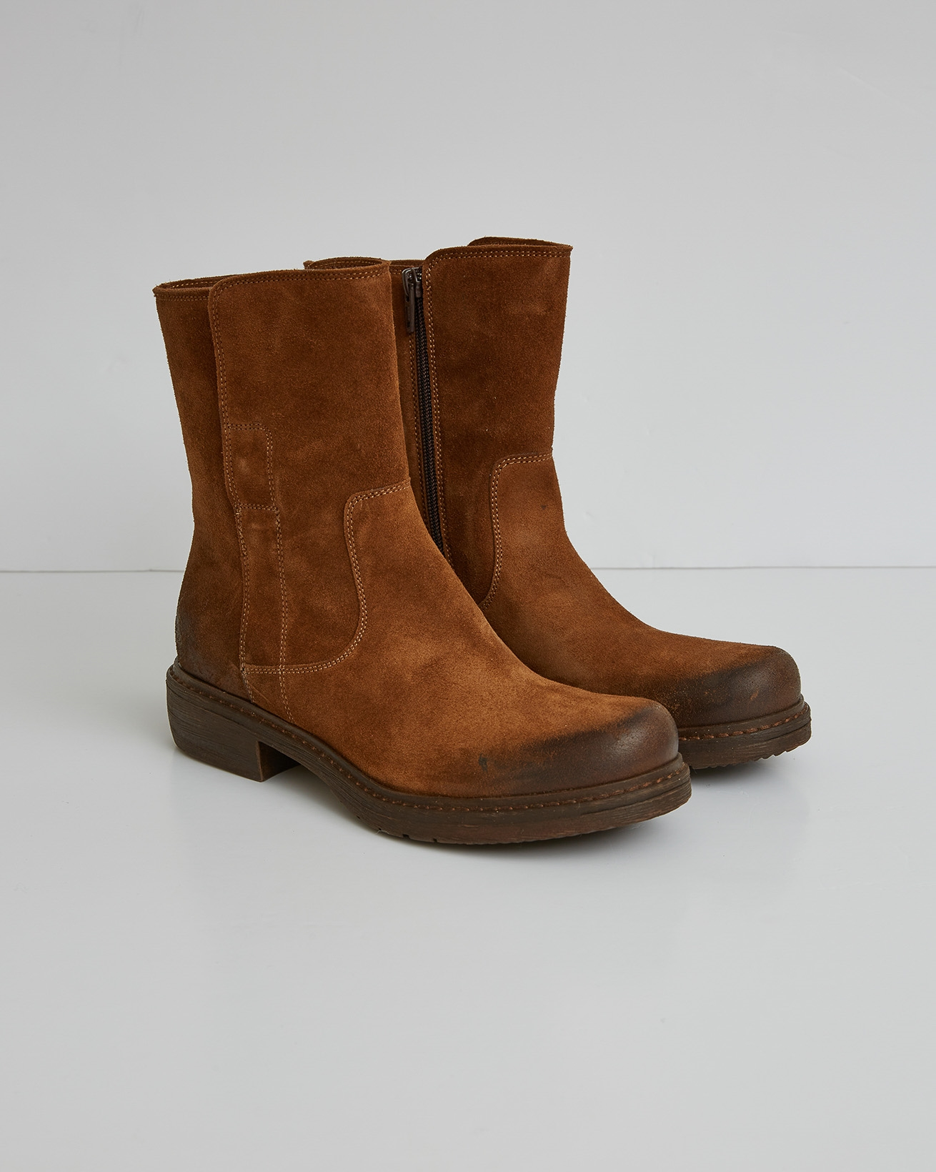 Essential Leather Ankle Boot - Cinnamon - Size 37 - 2770