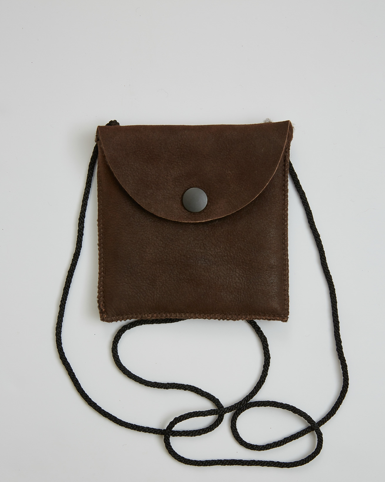 Sheepskin Purse - Brown - One Size - 2774