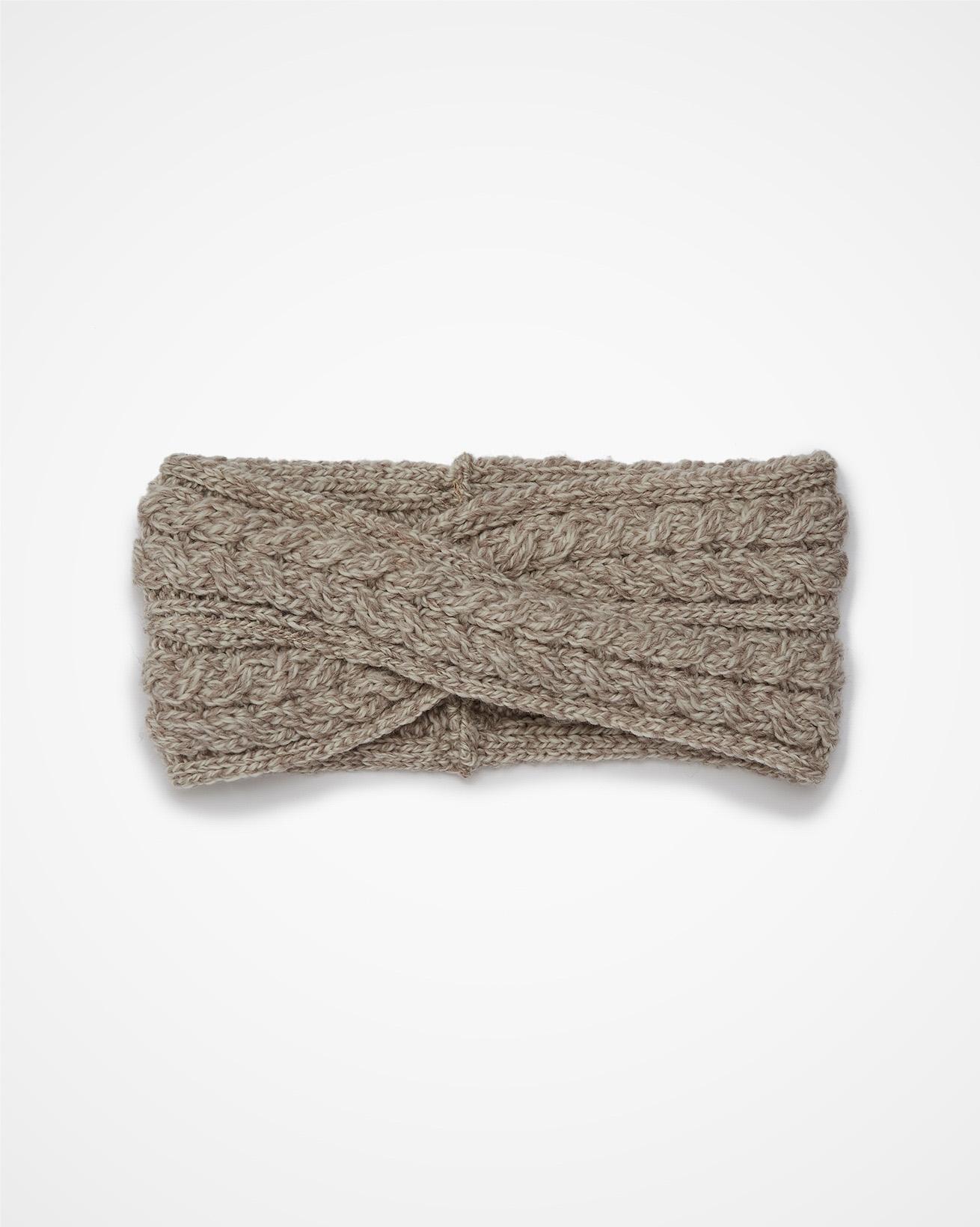 Aran Cable Headband