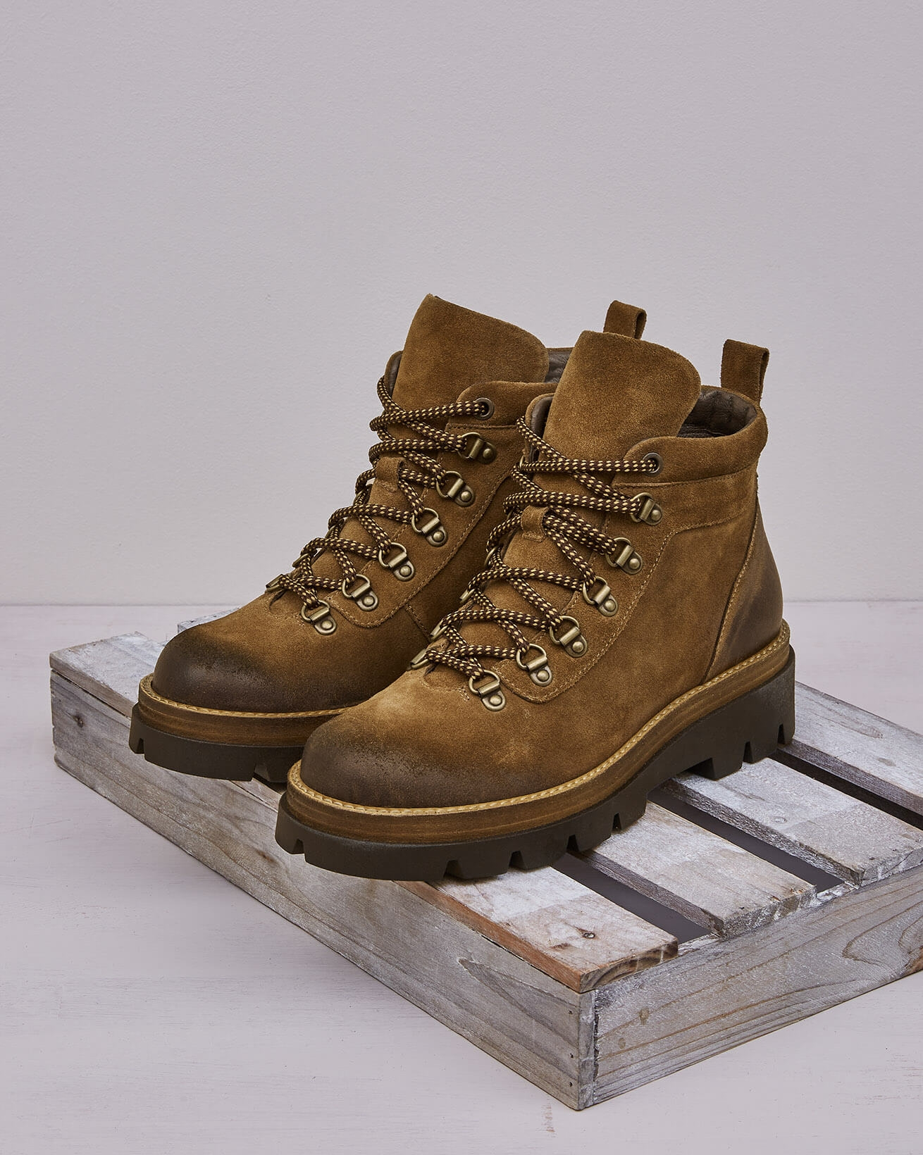 Chunky Hiker Boot
