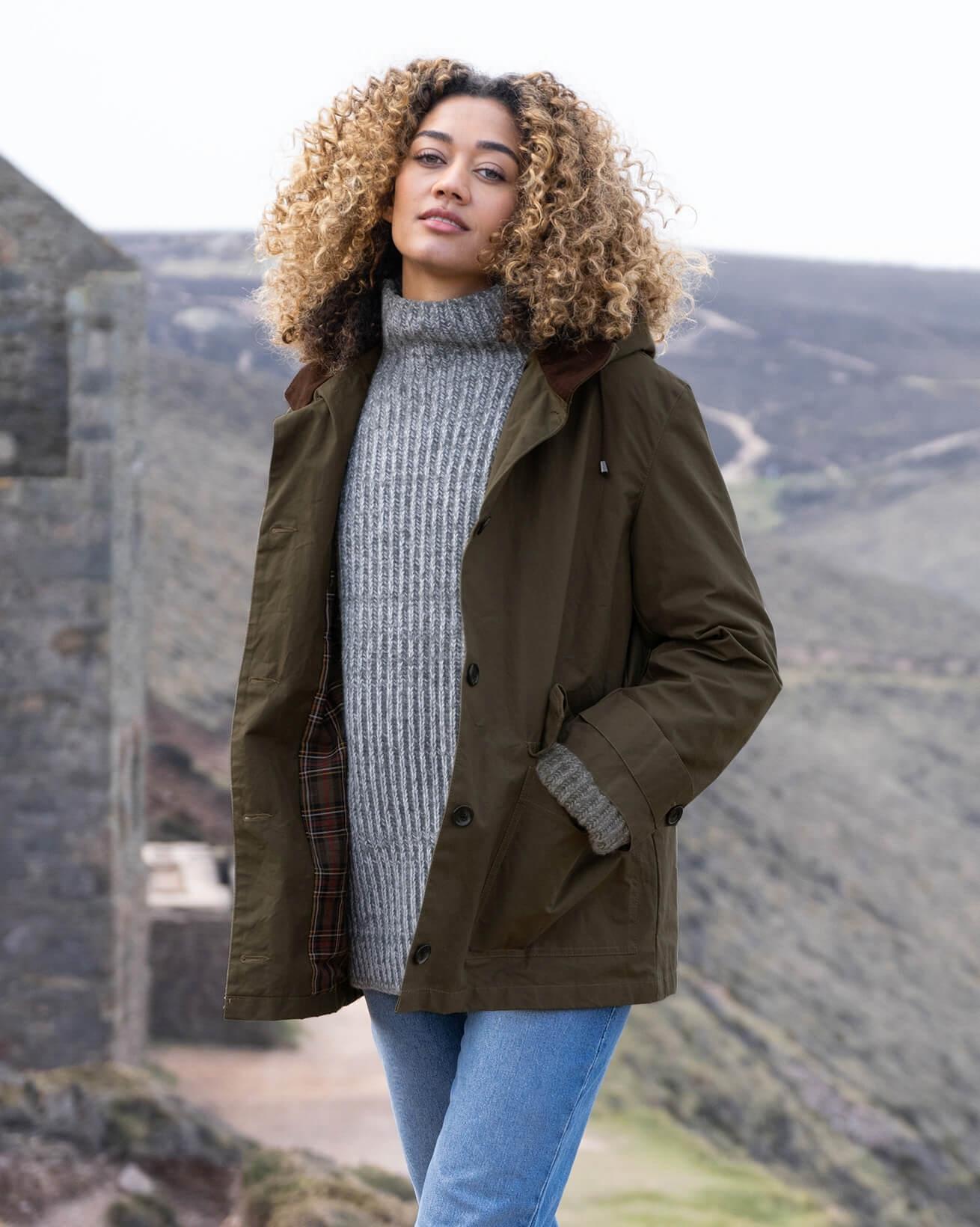 Hybrid Aero Waxed Cotton Jacket